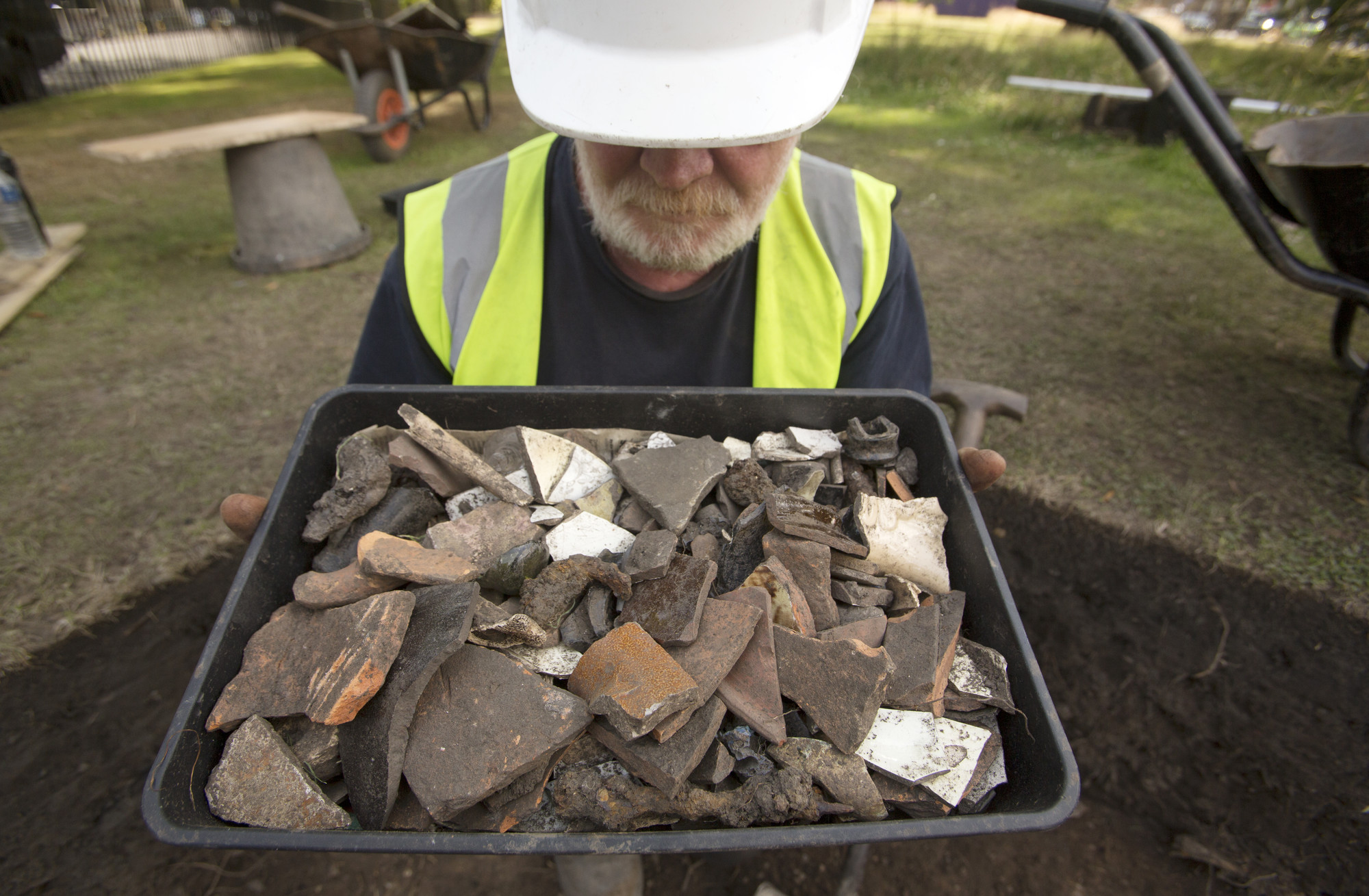 Excavations at the Palace of Holyroodhouse