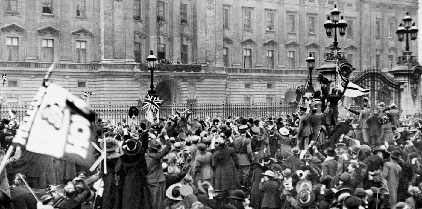 Armistice at Buckingham Palace