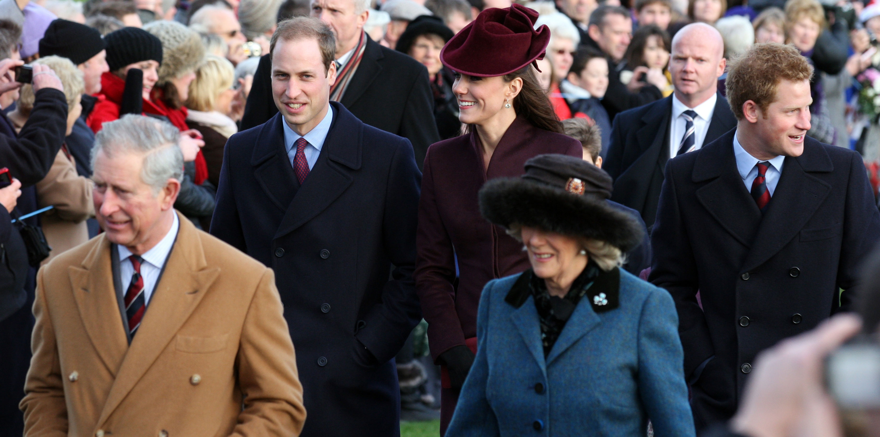 The Royal Family attend church on Christmas Day in Sandringham