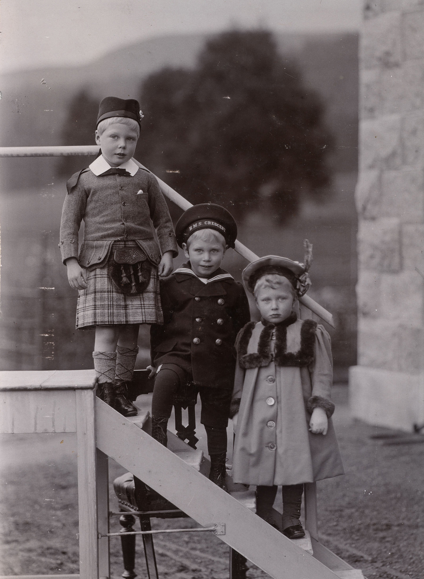 Prince Edward, Prince Albert and Princess Victoria