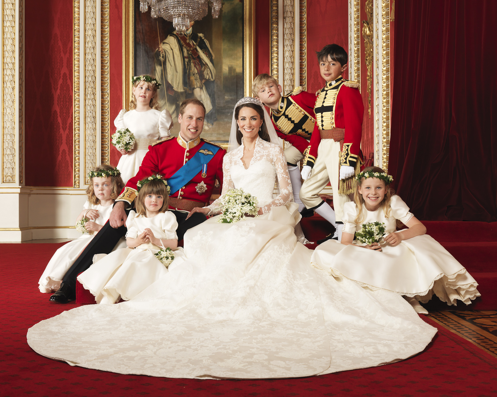 The wedding of Prince William and Miss Catherine Middleton | The ...