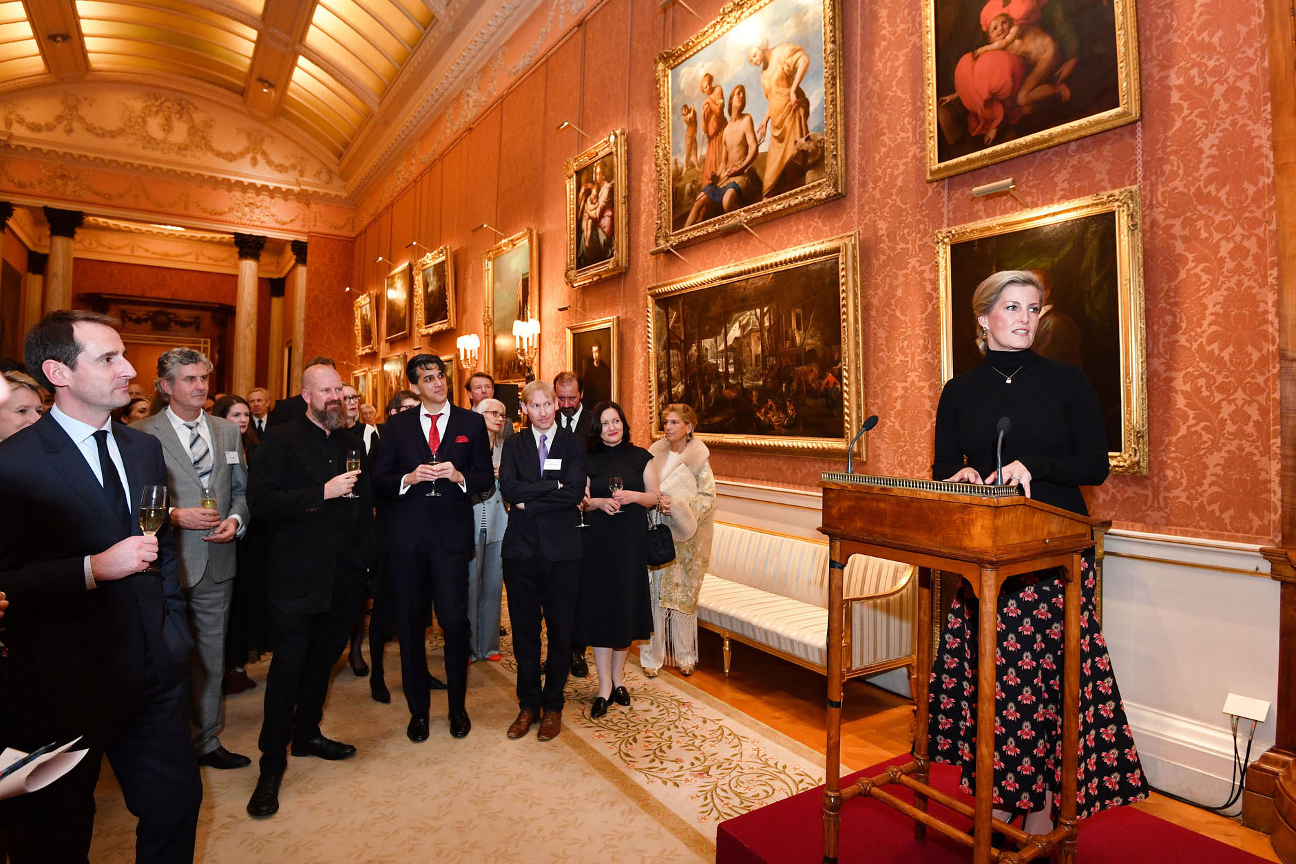 Countess of Wessex Fashion Reception Buckingham Palace