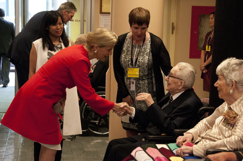 The Countess of Wessex visited Deer Lodge Veterans Hospital in Winnipeg