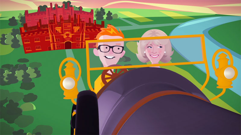 The Duchess of Cornwall 500 Words animation