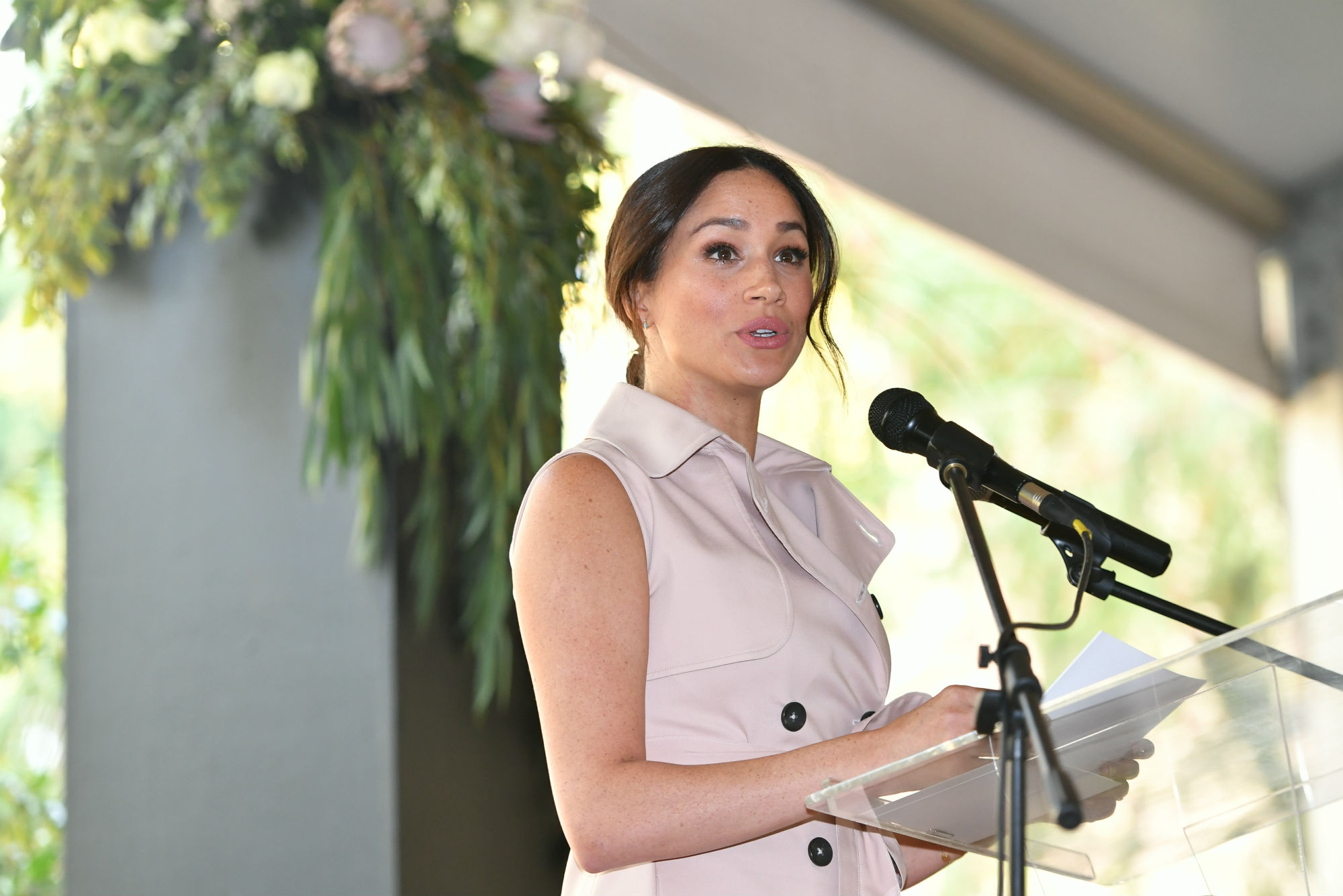 The Duchess of Sussex final speech