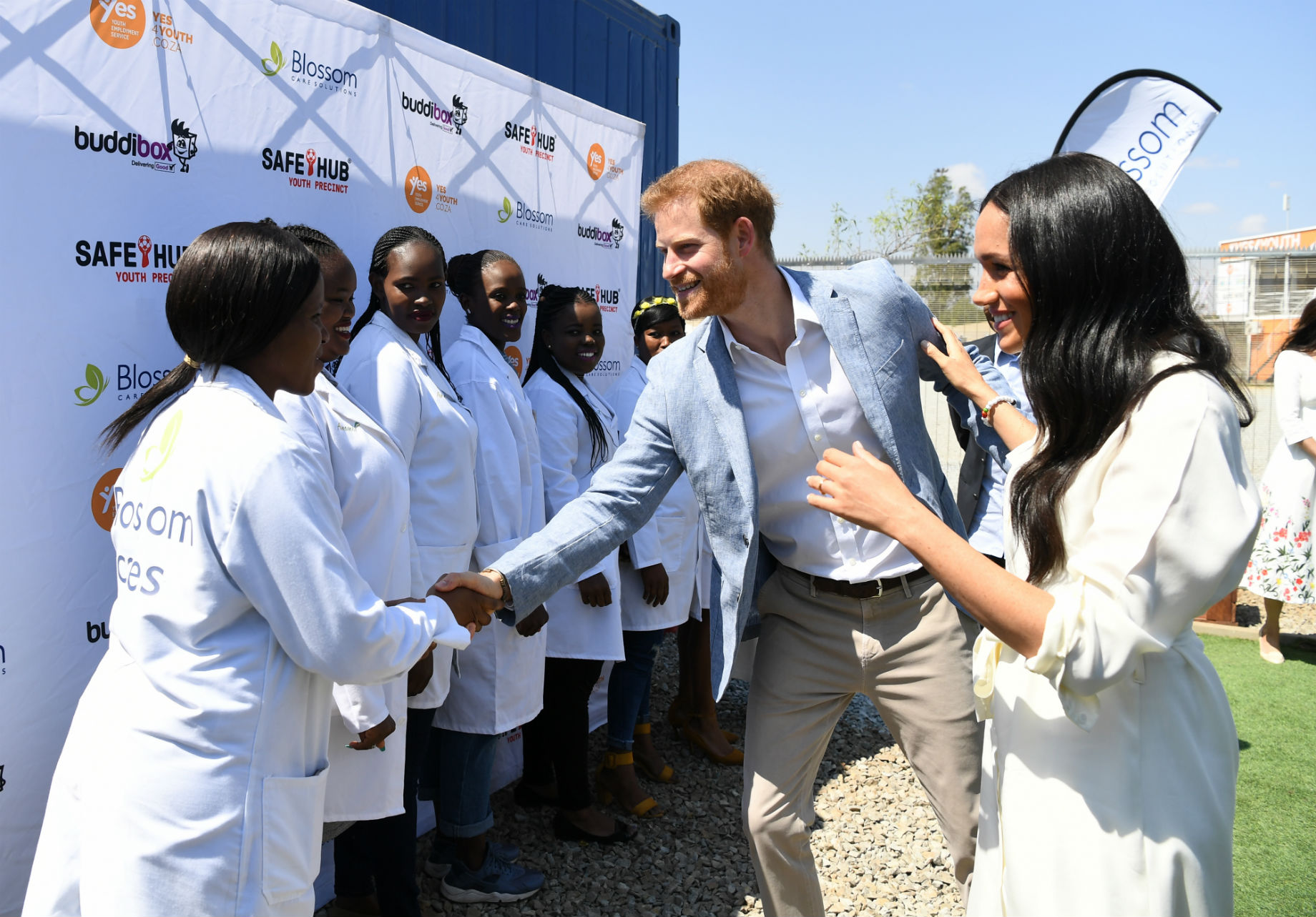 The Duke And Duchess Of Sussex Visit Southern Africa The Royal Family