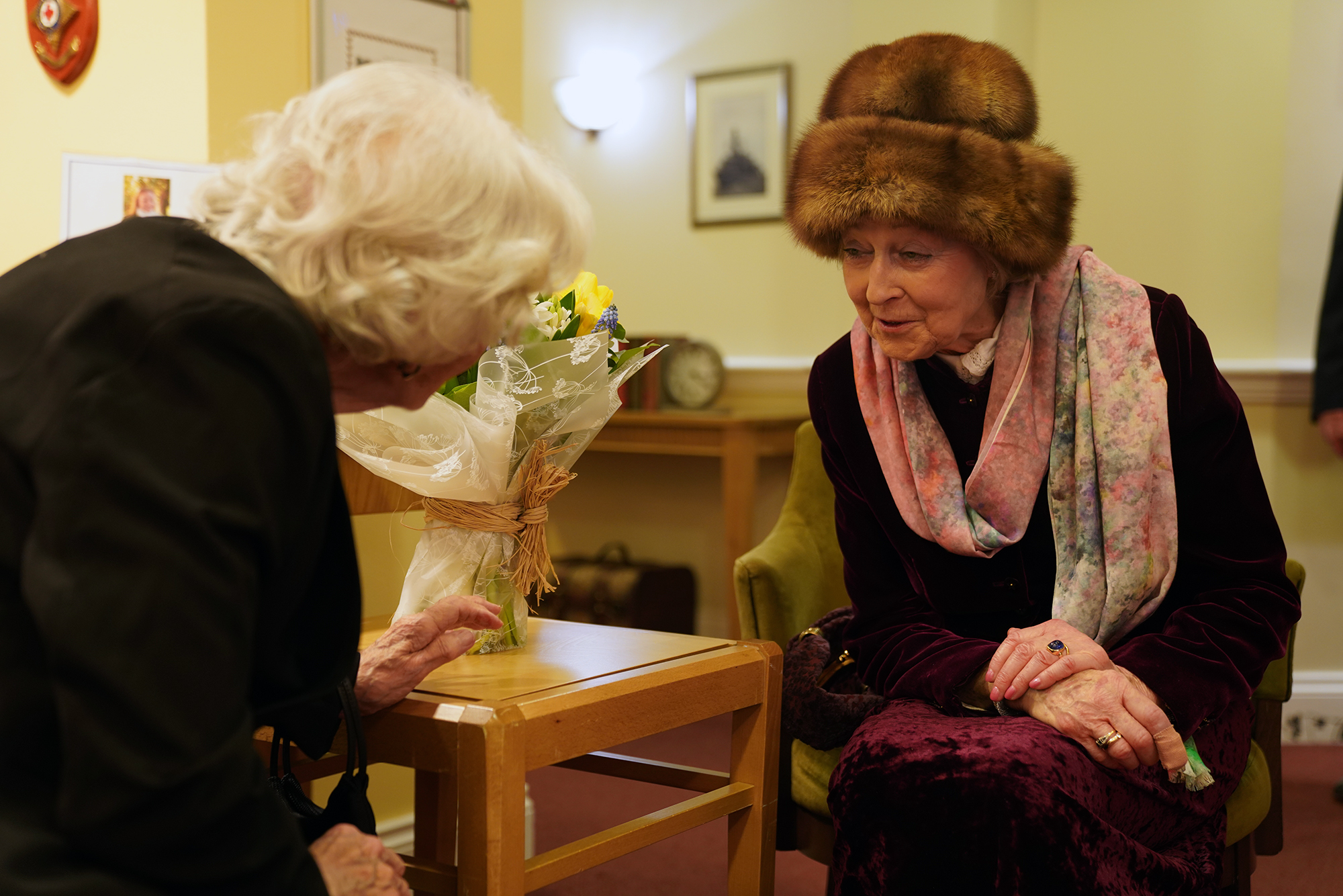 Princess Alexandra attended the Royal Star and Garter Home in Surbiton on their Founders' Day celebrations.