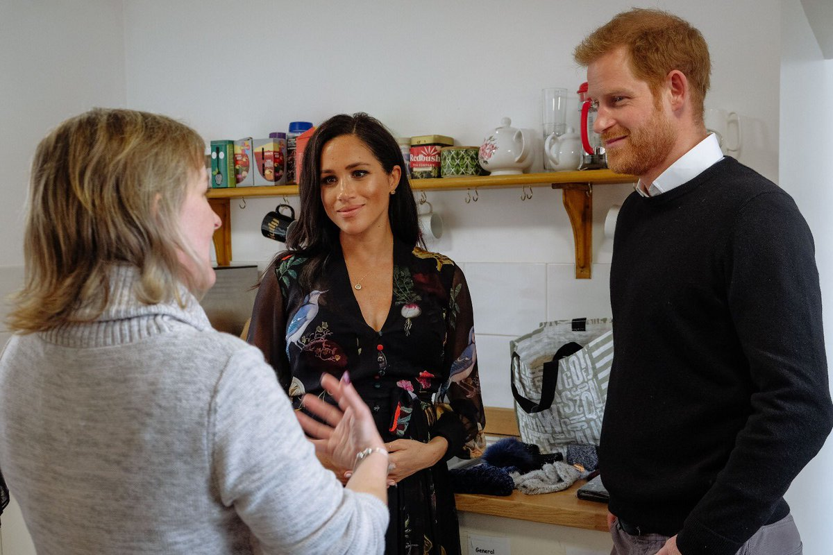 The Duke and Duchess of Sussex in Bristol