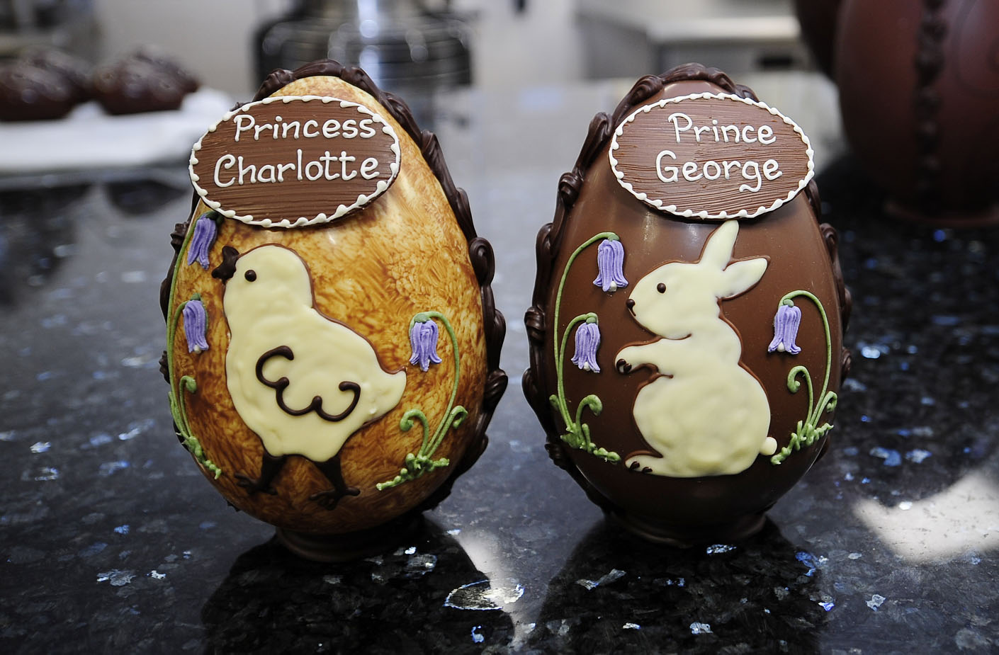 Easter eggs given to Prince George and Princess Charlotte