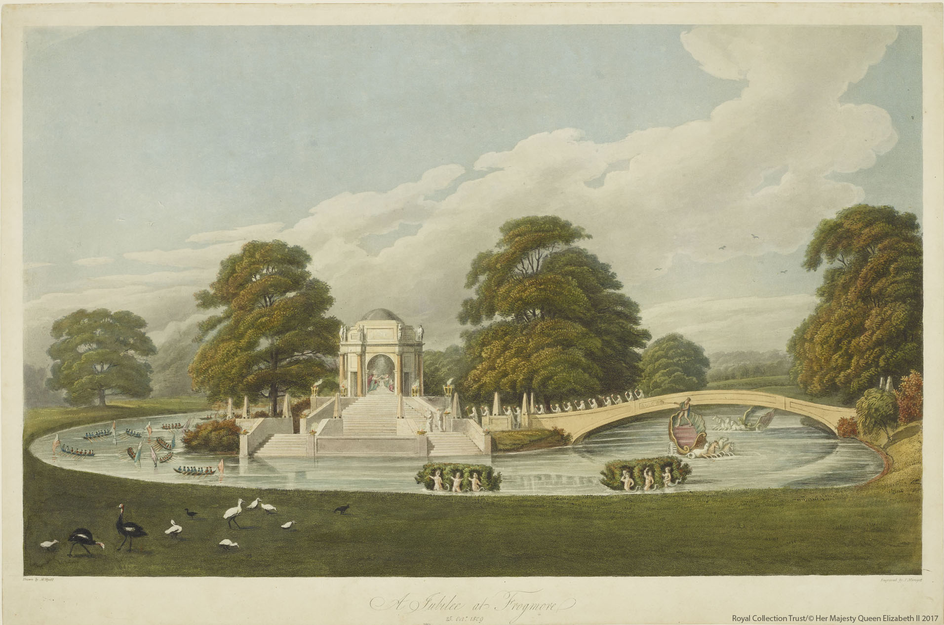 The Golden Jubilee at Frogmore 1809