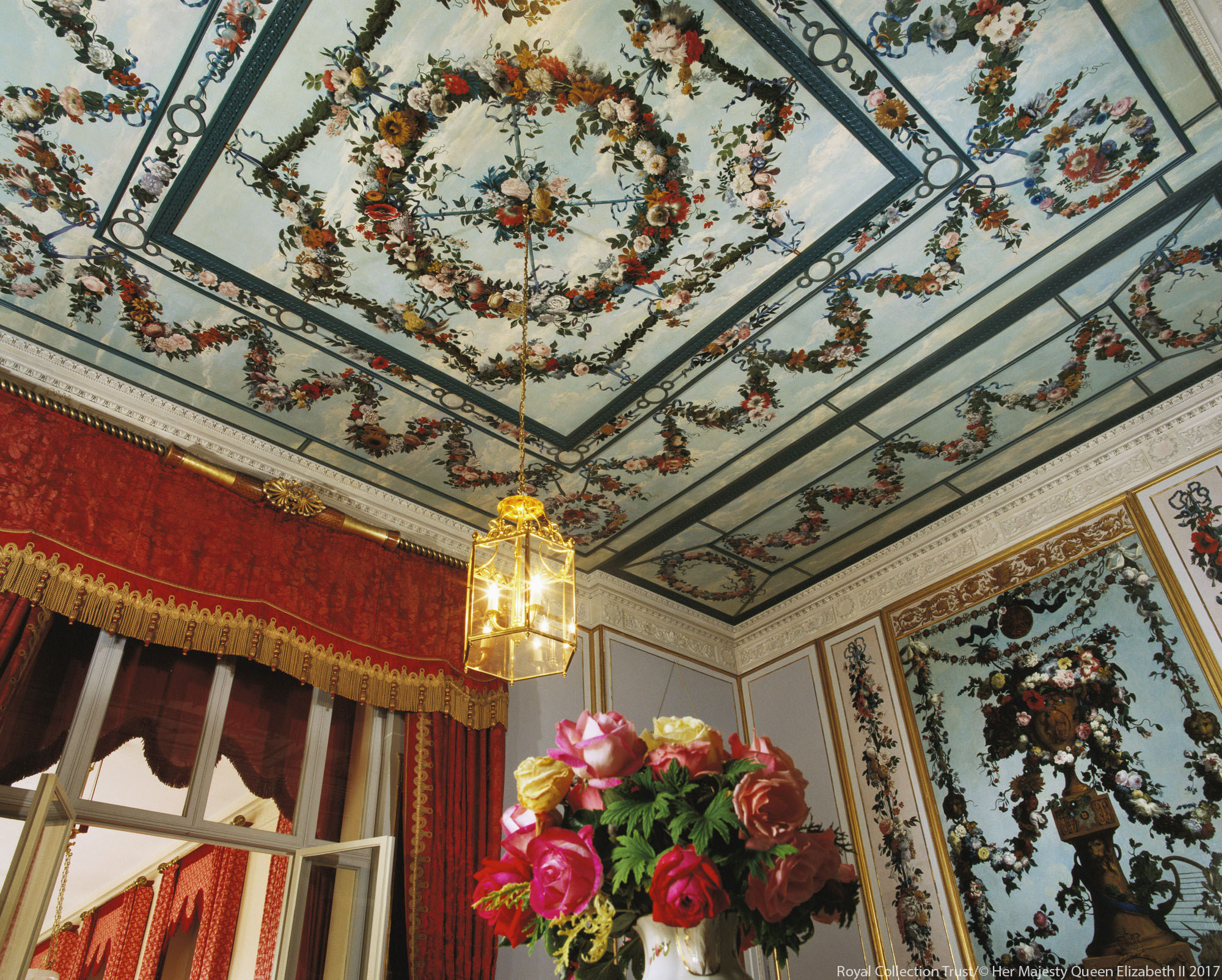The Mary Moser room in Frogmore House