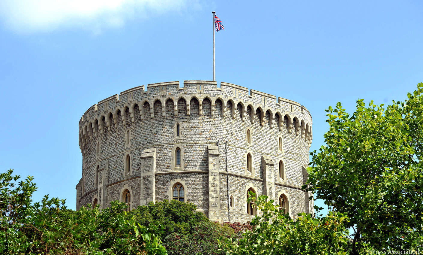 The Round Tower at Windsor Castle where the Georgian Papers are held