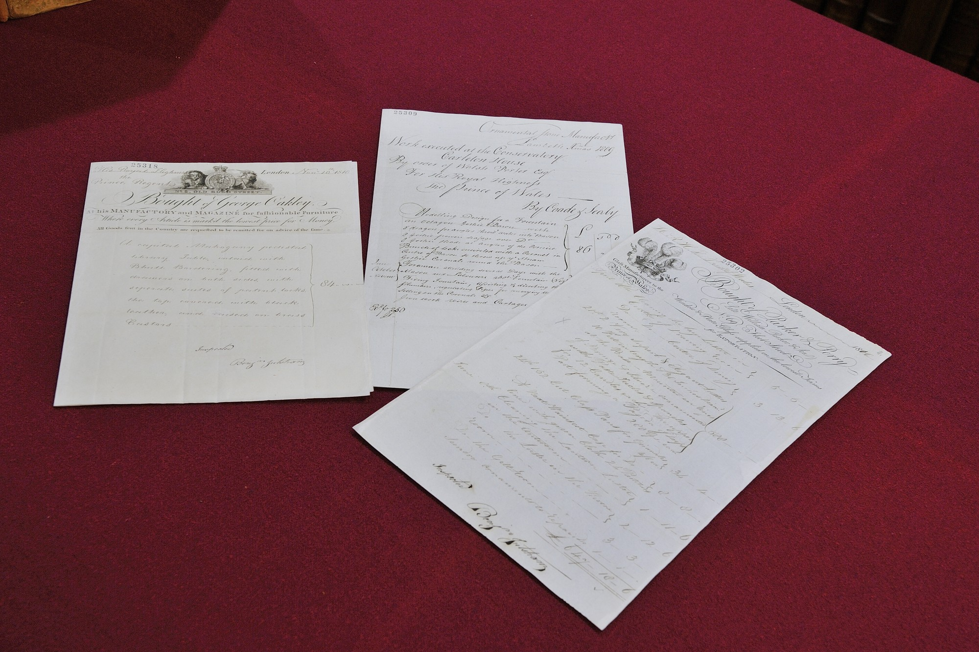 Examples of some Georgian Papers