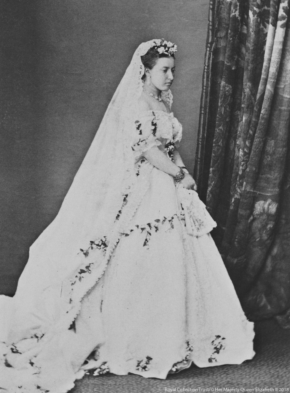 Princess Helena's Wedding Dress