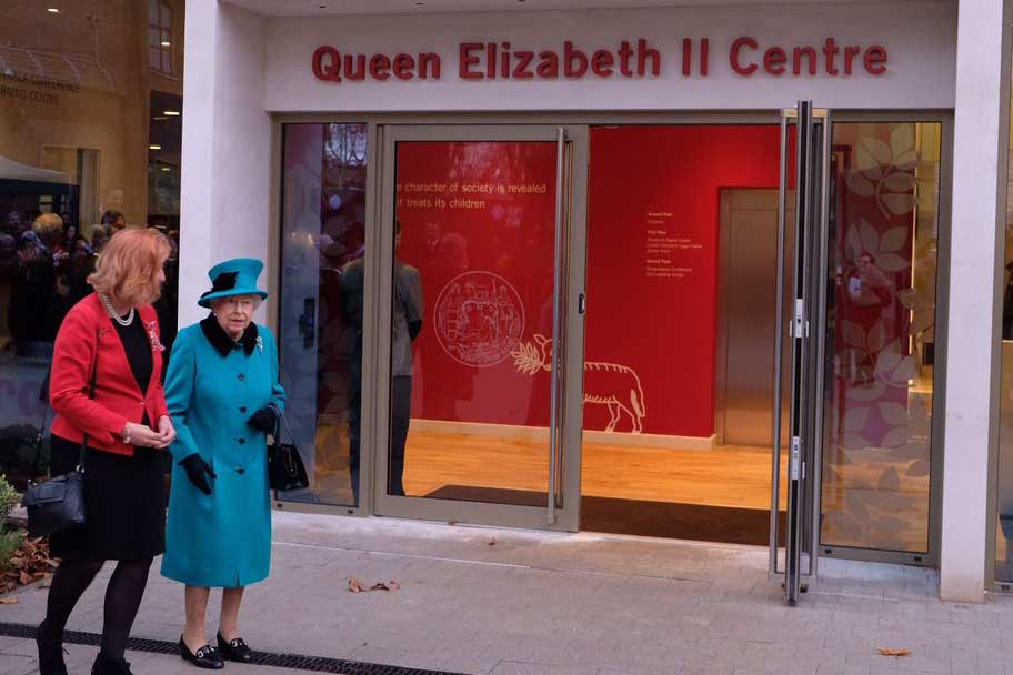 The Queen opens the Queen Elizabeth II Centre
