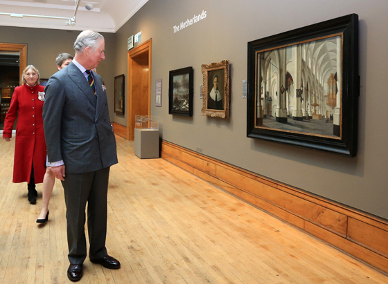 The Prince of Wales at Ferens Art Gallery