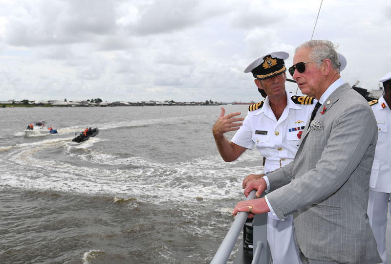 The Prince of Wales visits Lagos