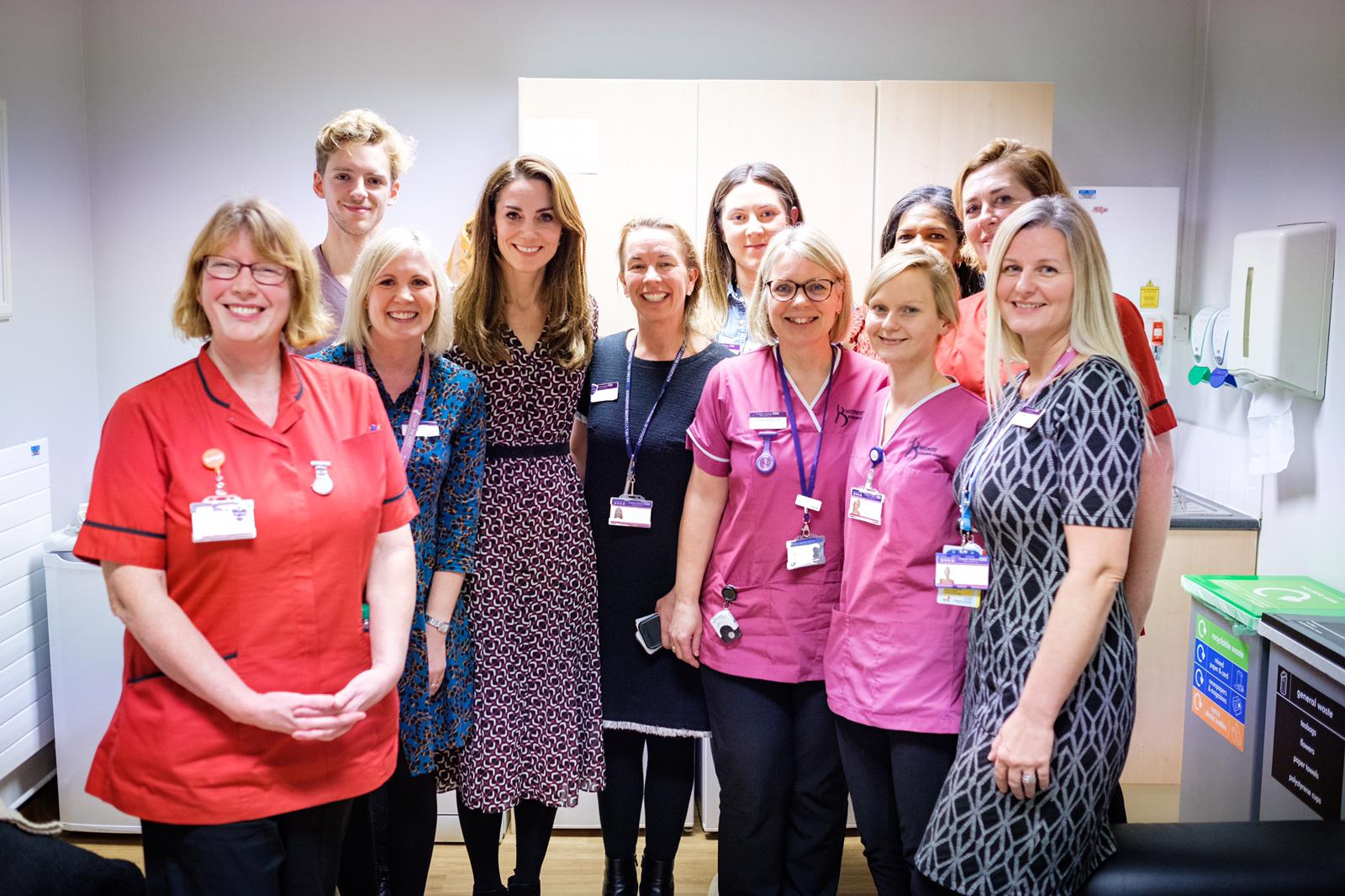 The Duchess of Cambridge writes an open letter to nurses