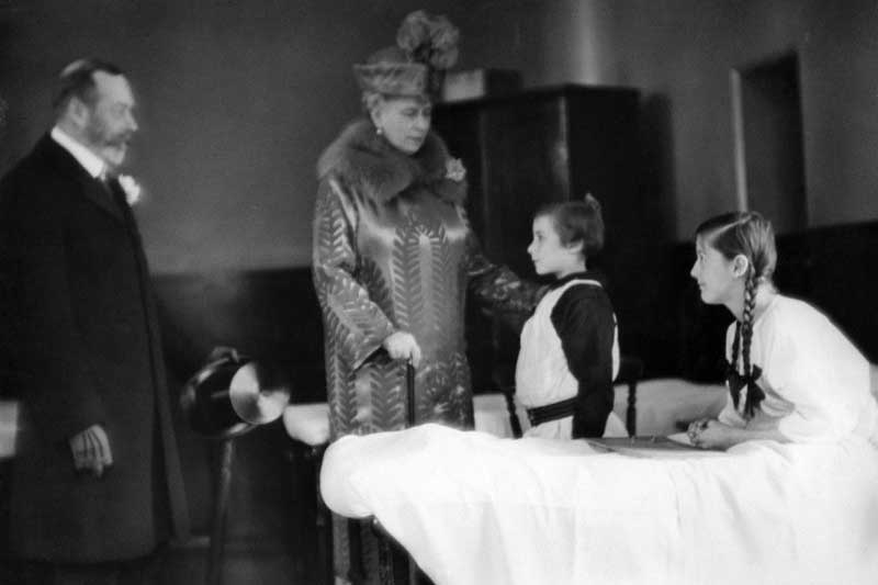 King George and Queen Mary Visit Coram