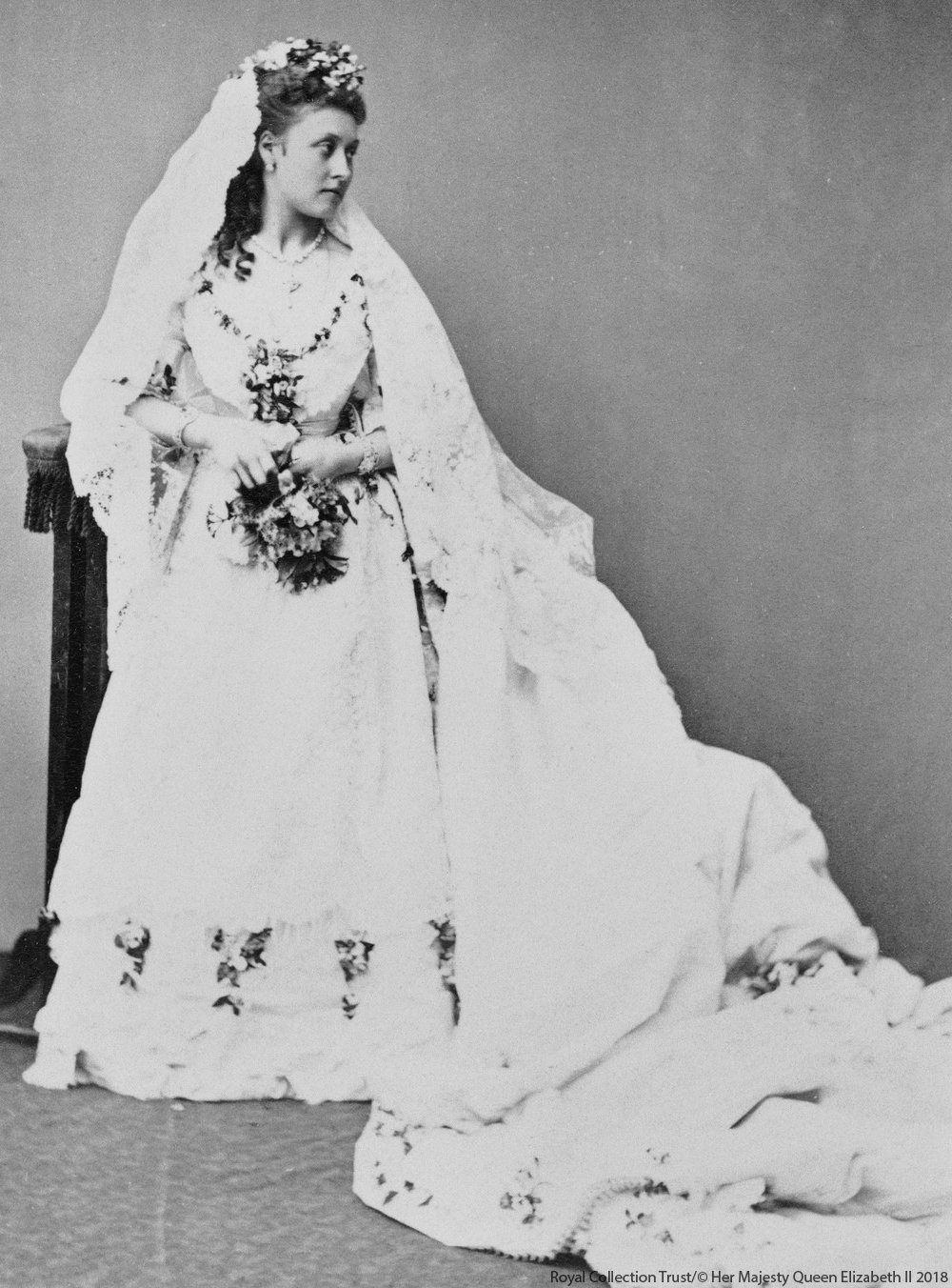 Princess Louise's Wedding Dress