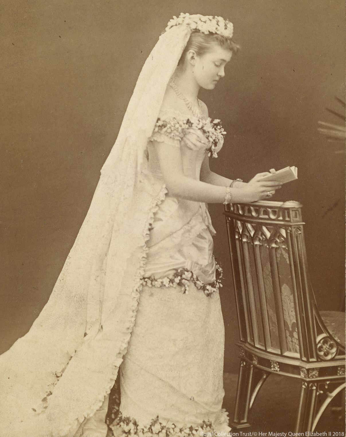 Princess Louise Margaret's Wedding Dress