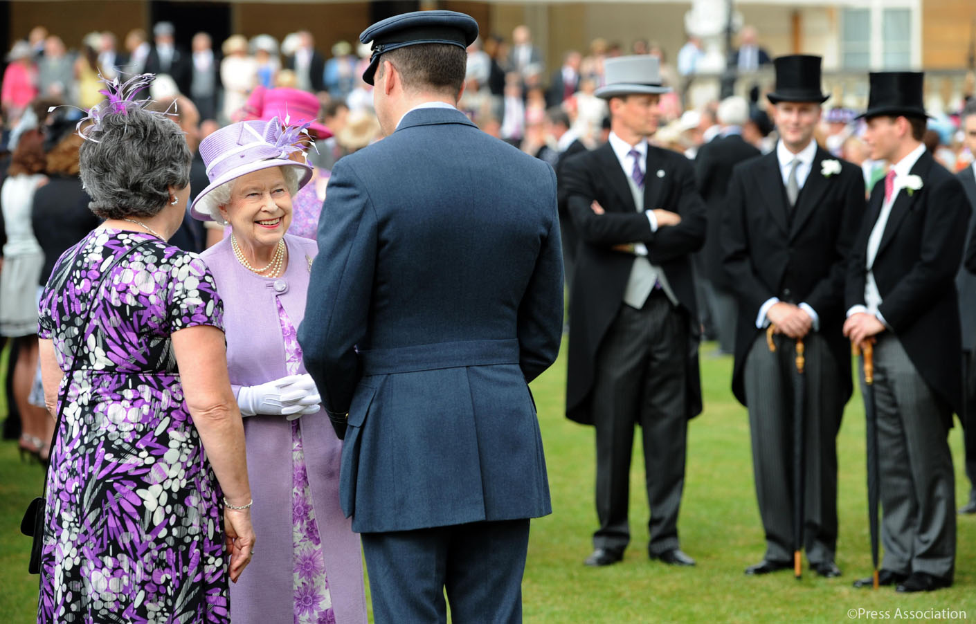 The Queen 39 S Buckingham Palace Garden Parties The Royal