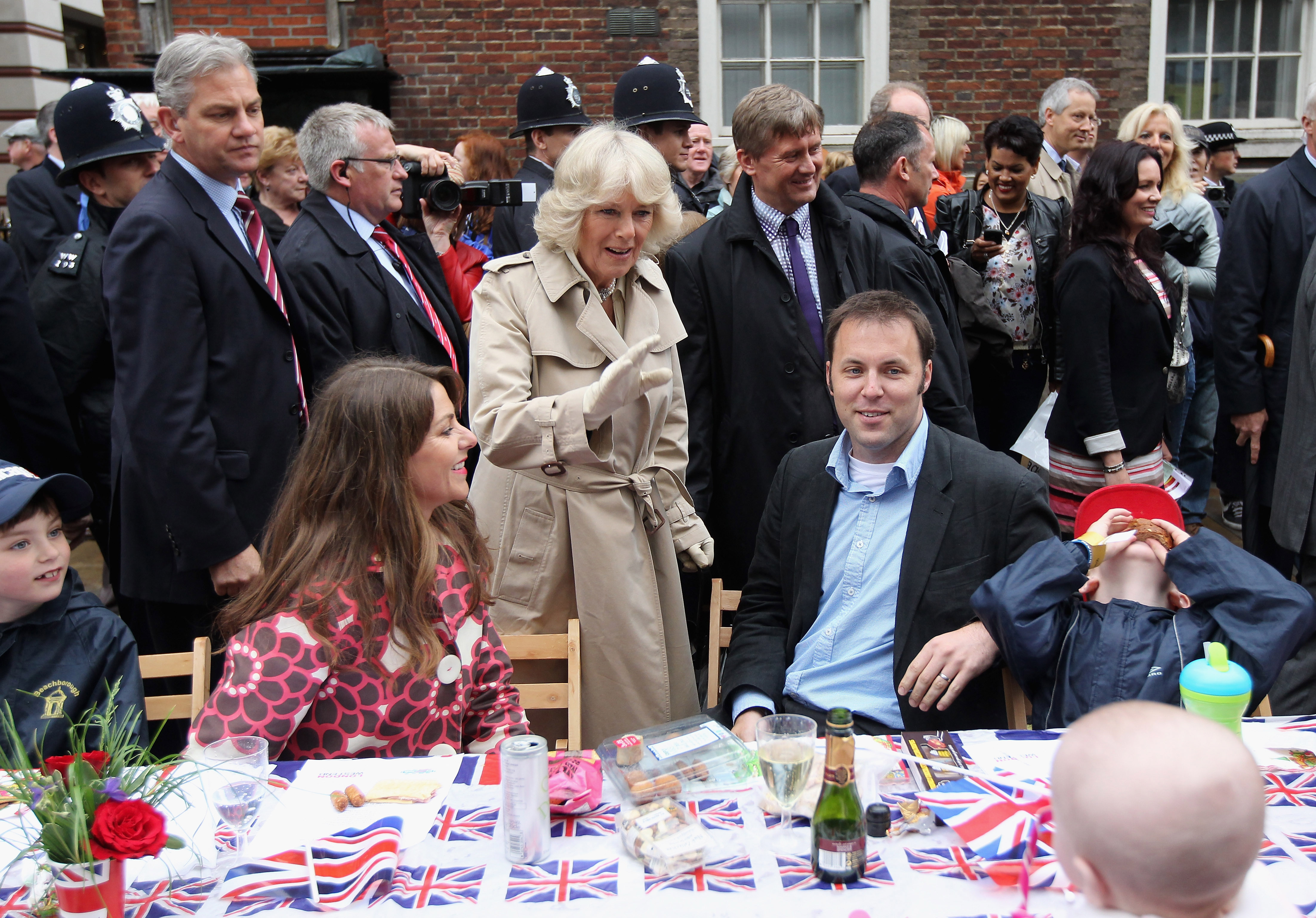 The Duchess of Cornwall at The Big Jubilee Lunch, 2012.