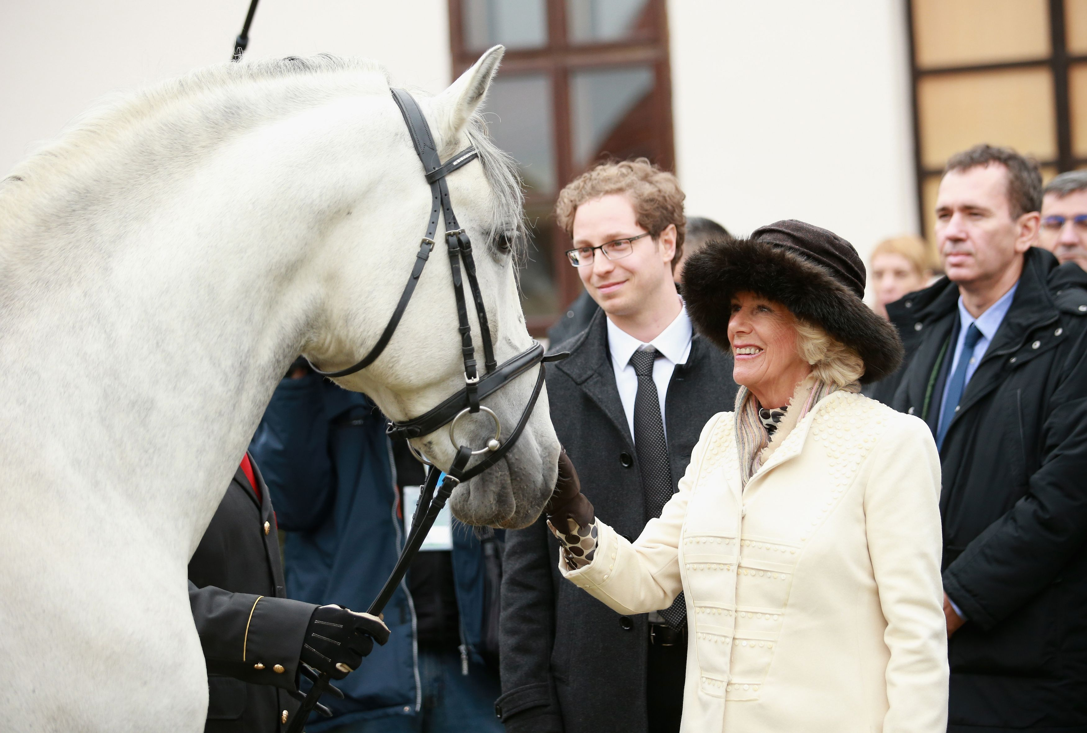 The Duchess of Cornwall visits Dakovo State Stud Farm in Croatia