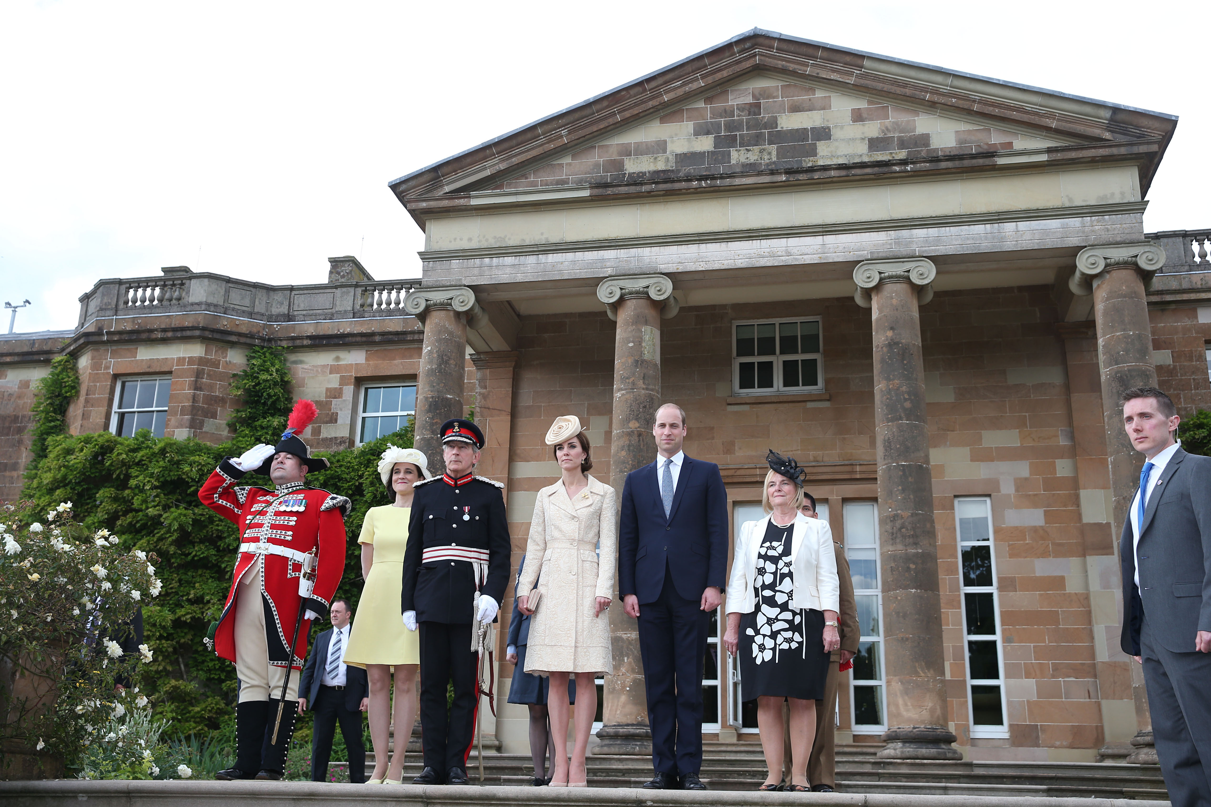 The Duke and Duchess of Cambridge attend a Garden Party at Hillsborough Castle