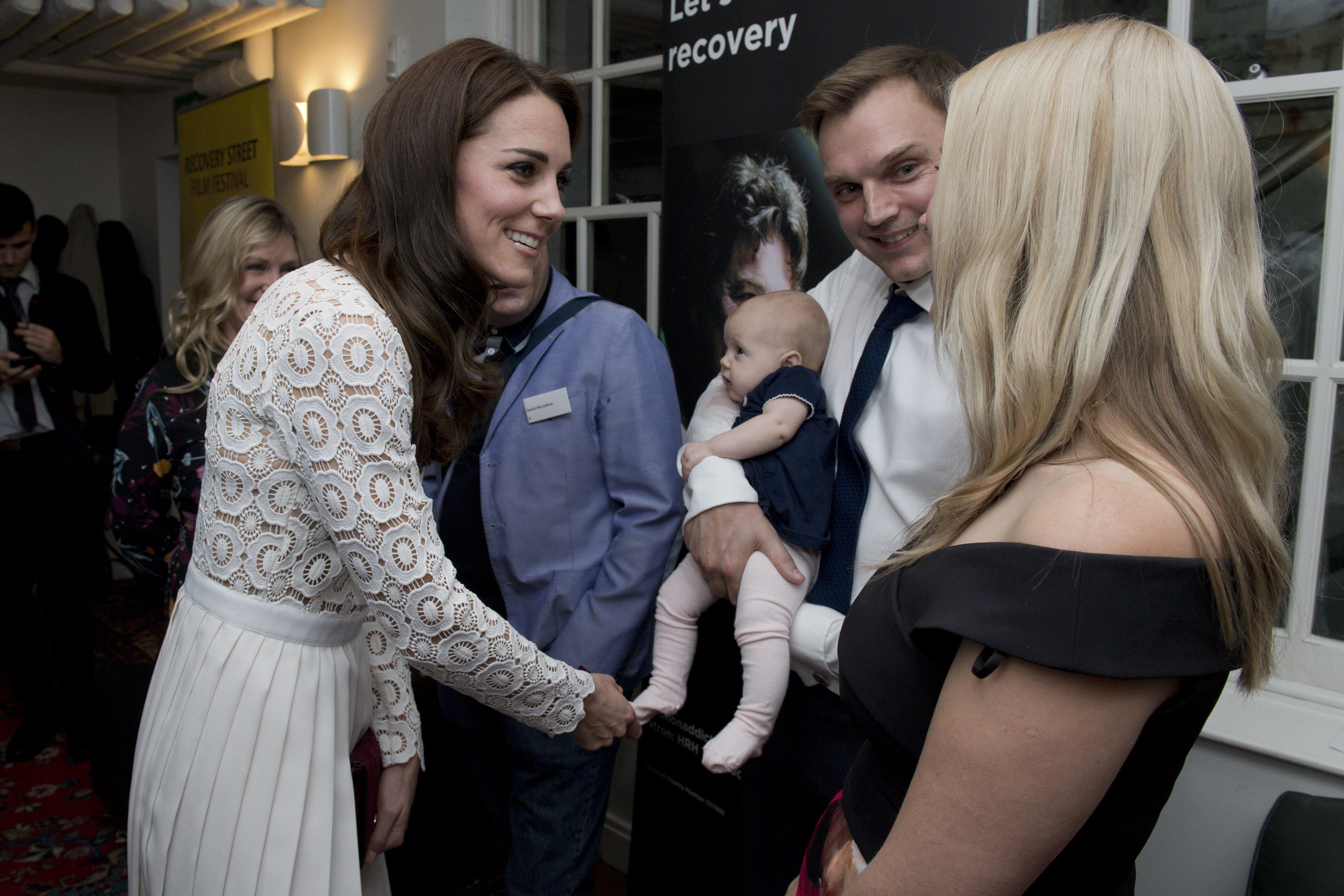 The Duchess of Cambridge at the Recovery Street Film Festival