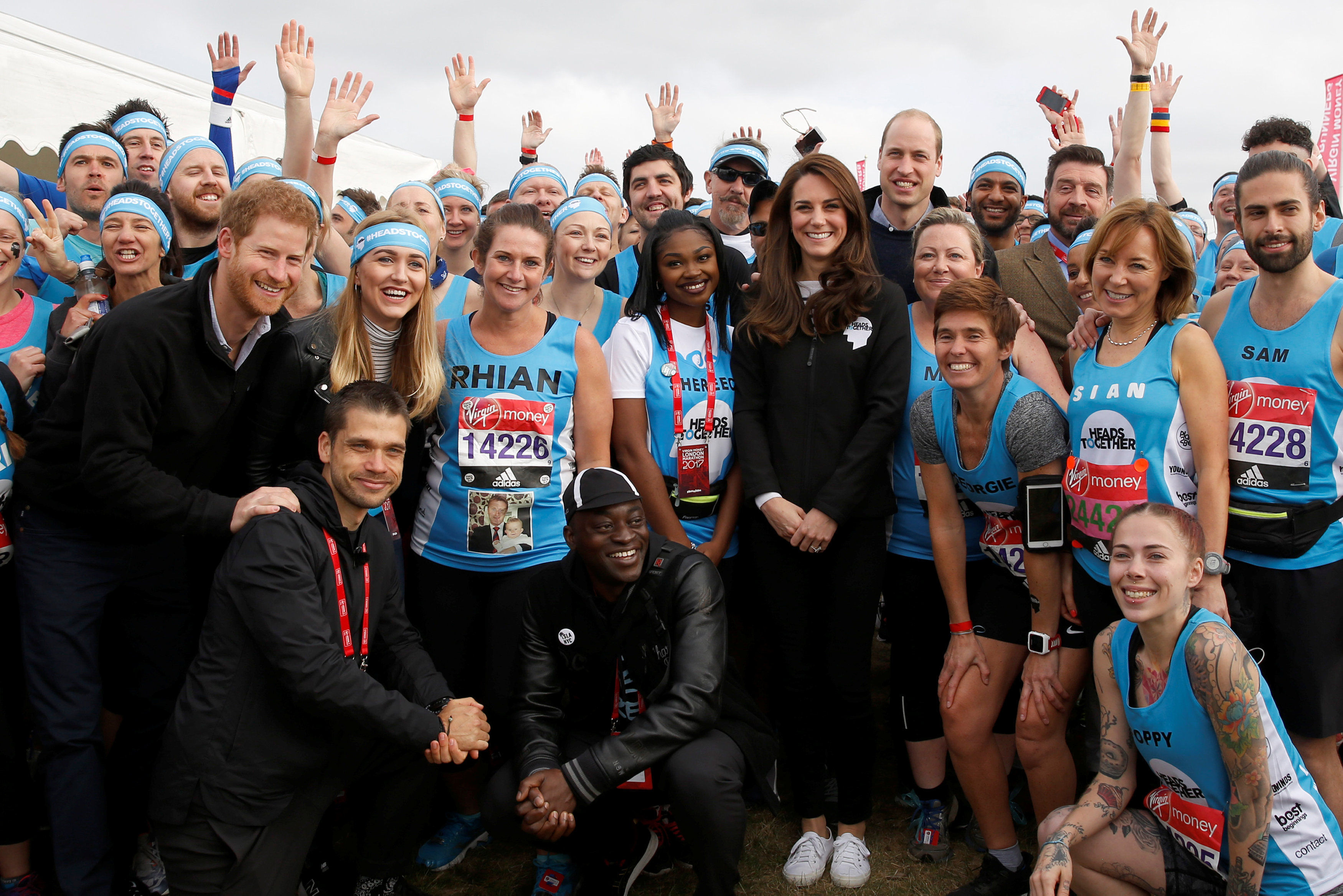 Duchess of Cambridge and Prince Harry Heads Together