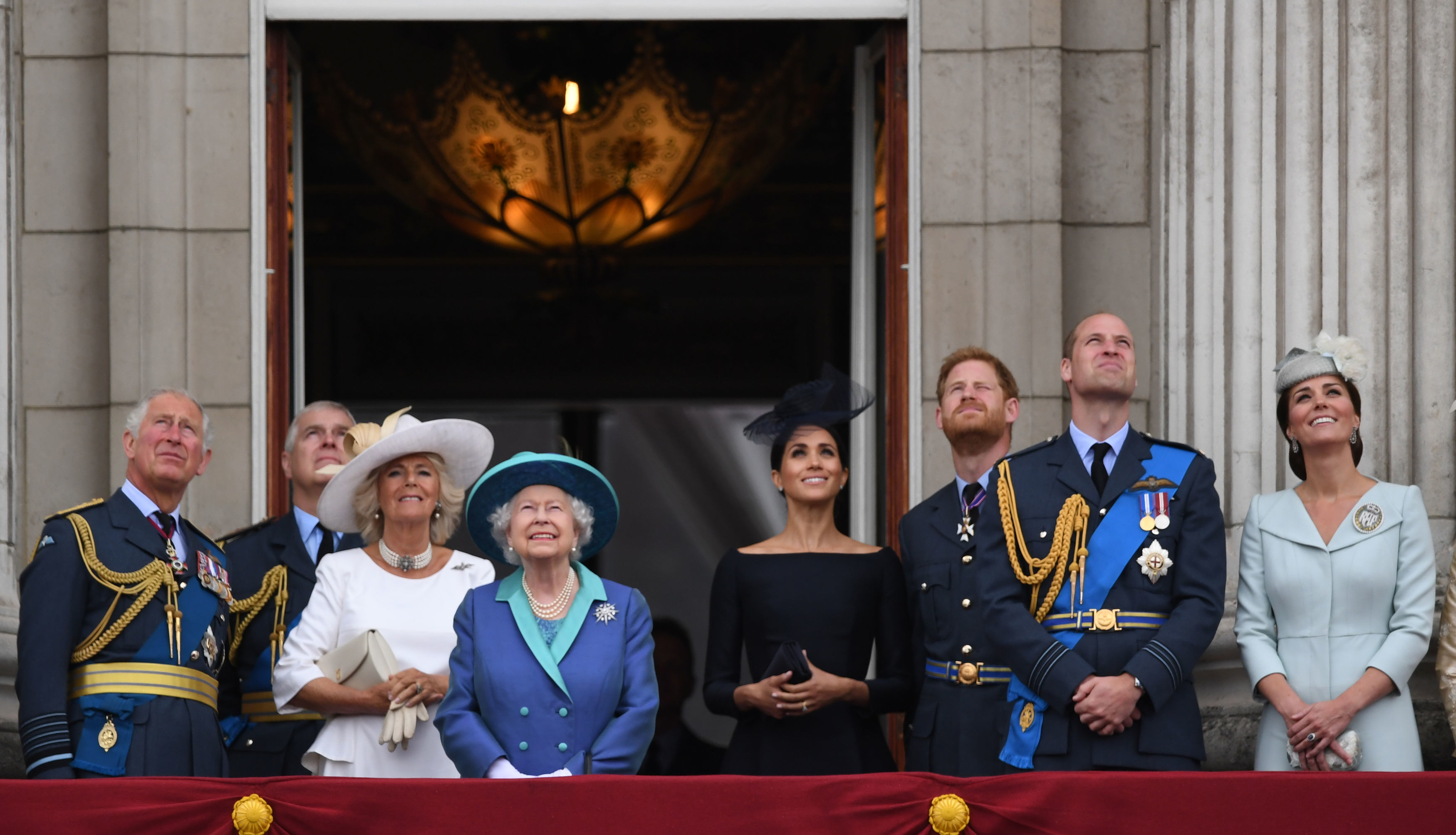 The Royal Family at RAF 100