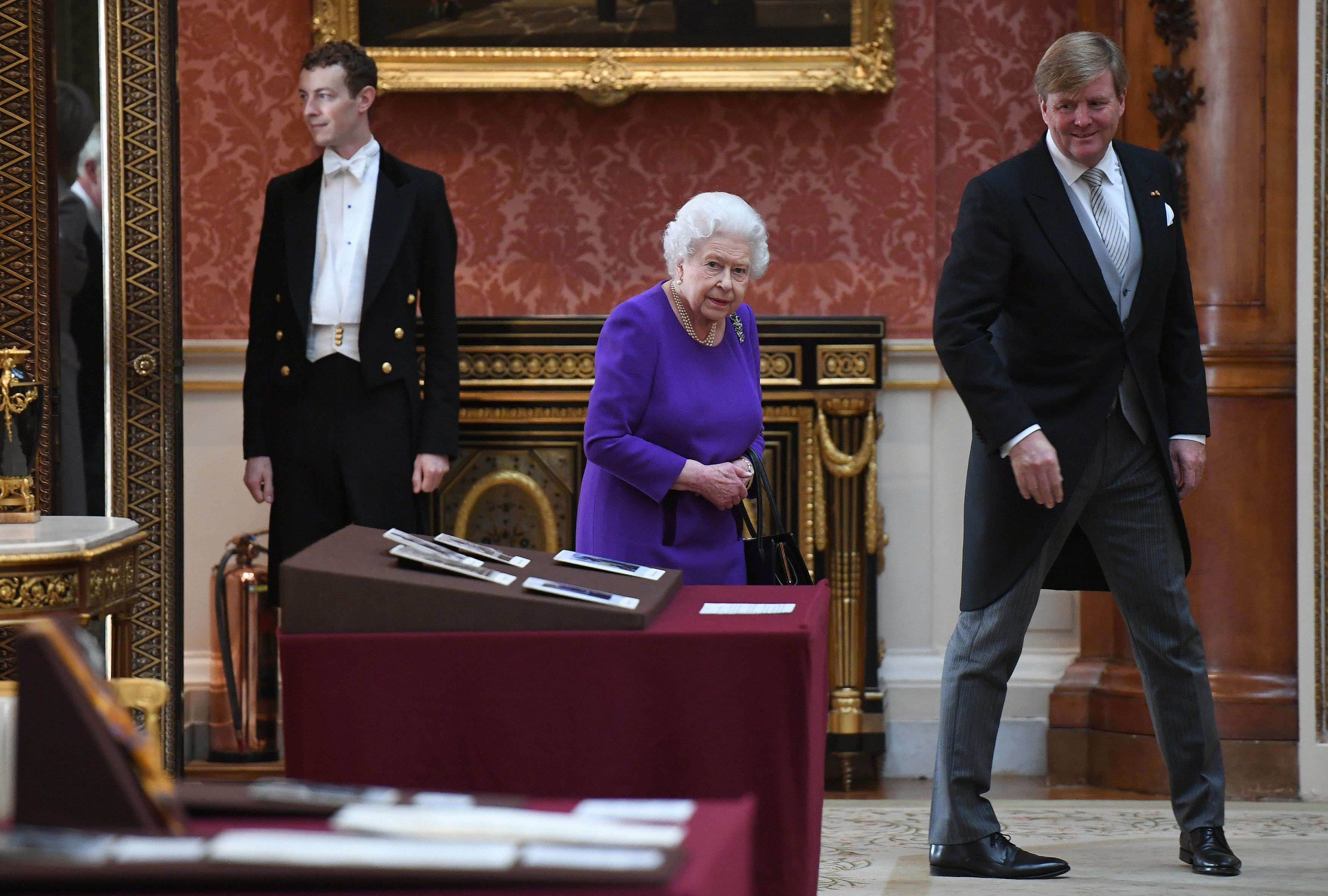 Netherlands State Visit The Queen views Dutch objects in the Royal Collection