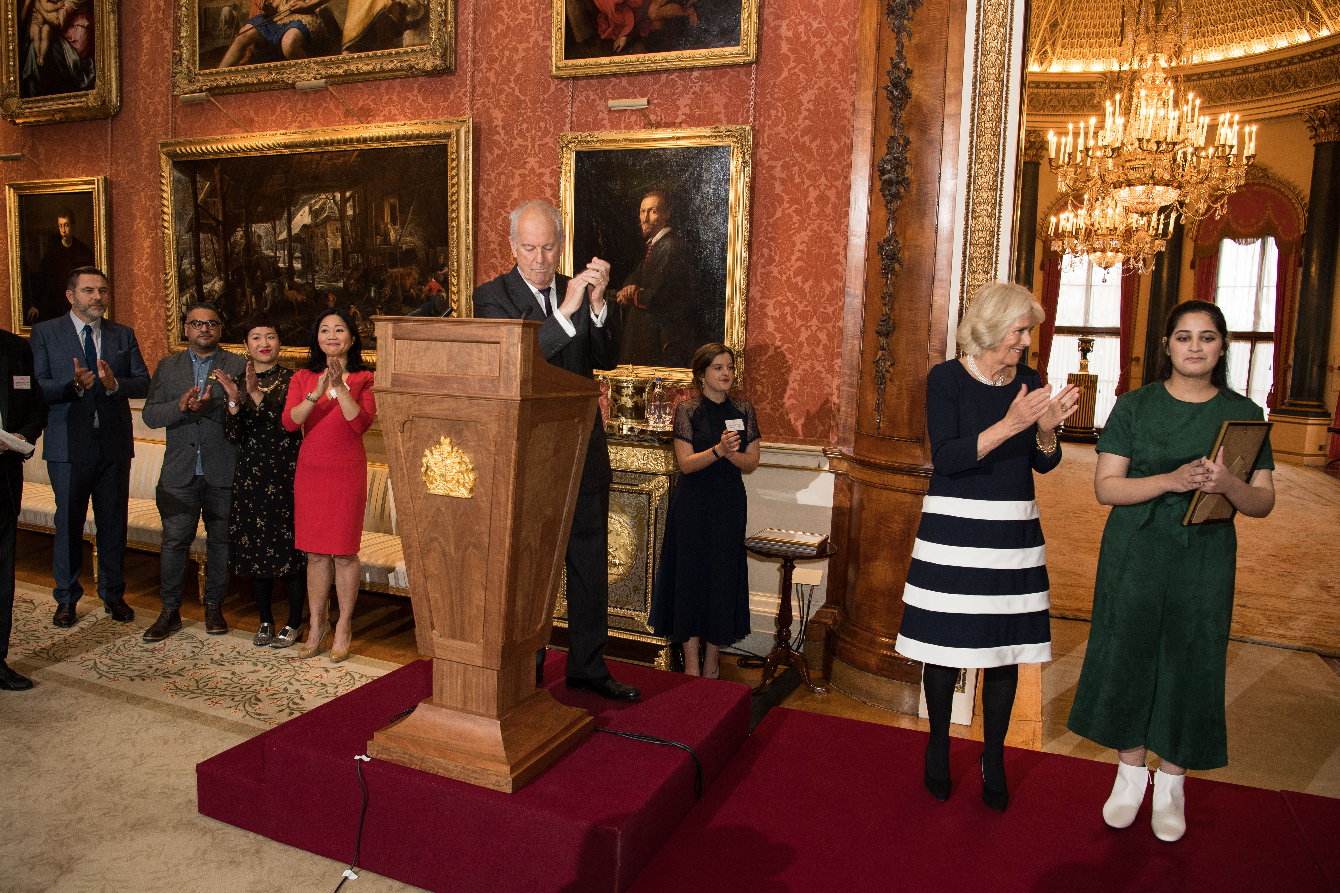The Queen's Commonwealth Essay Competition reception 2018