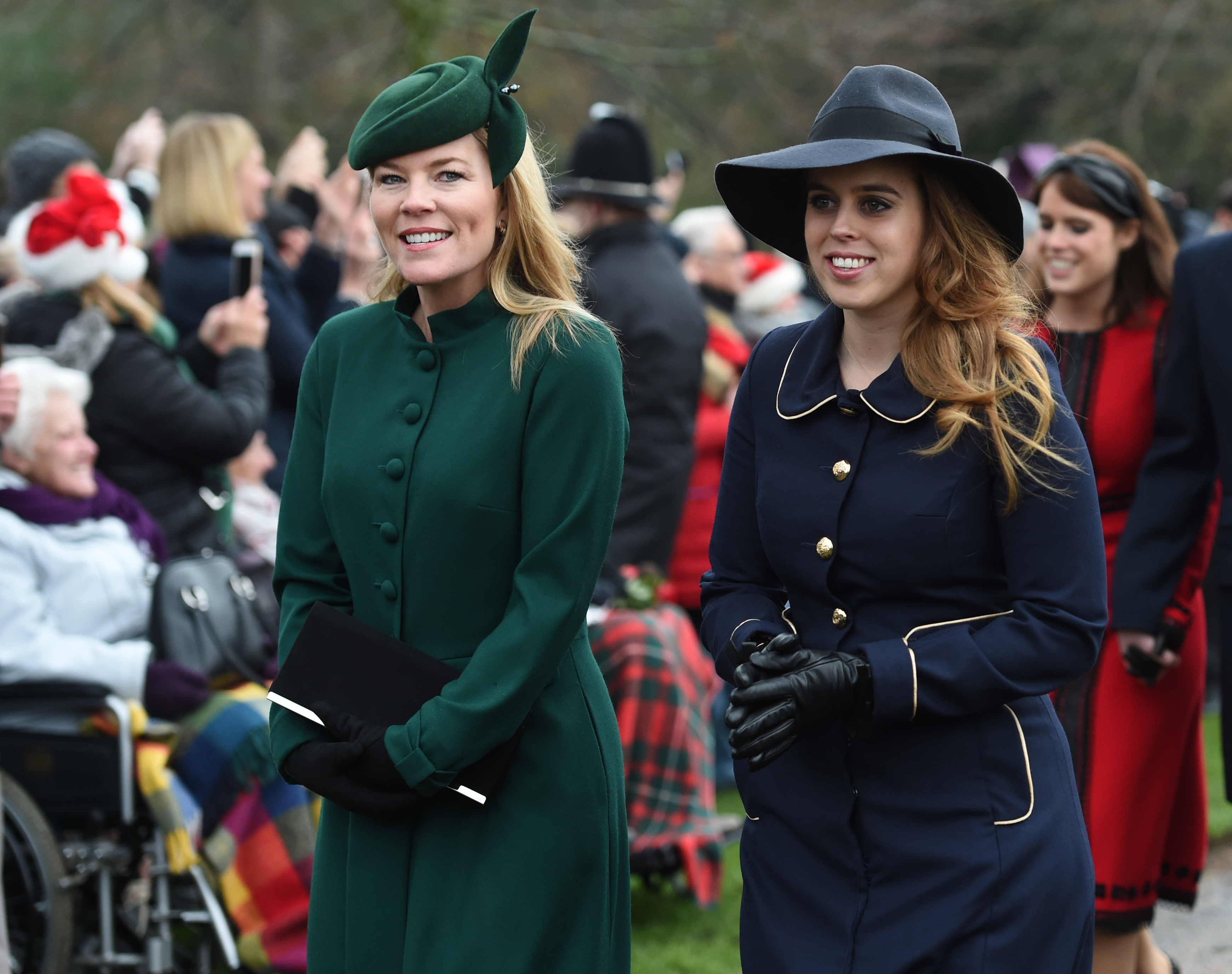 Arrival of The Royal Family at Sandringham Church, Christmas 2018