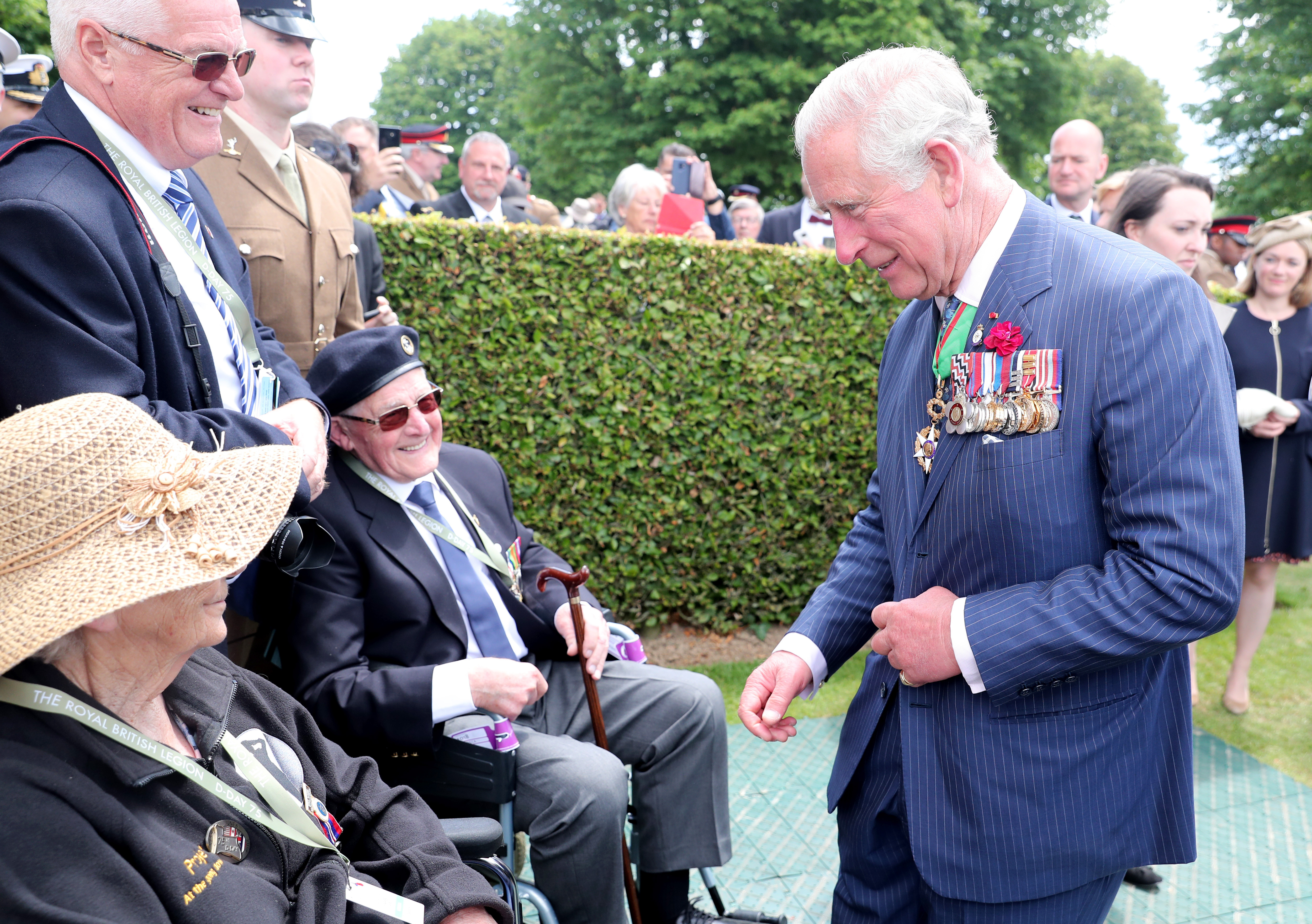 The 75th anniversary of the D-Day landings | The Royal Family
