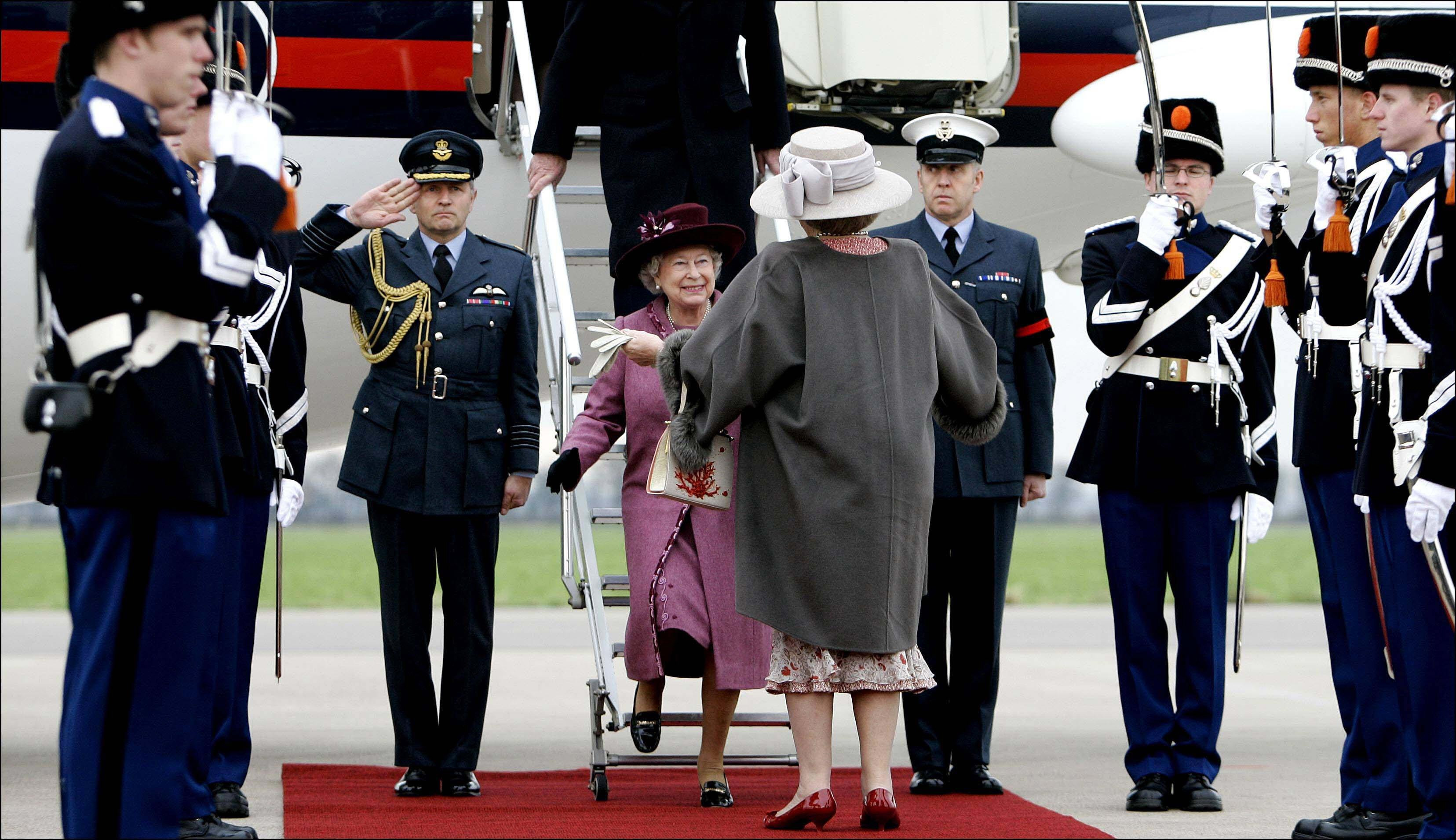 The Queen visits the Netherlands 2007