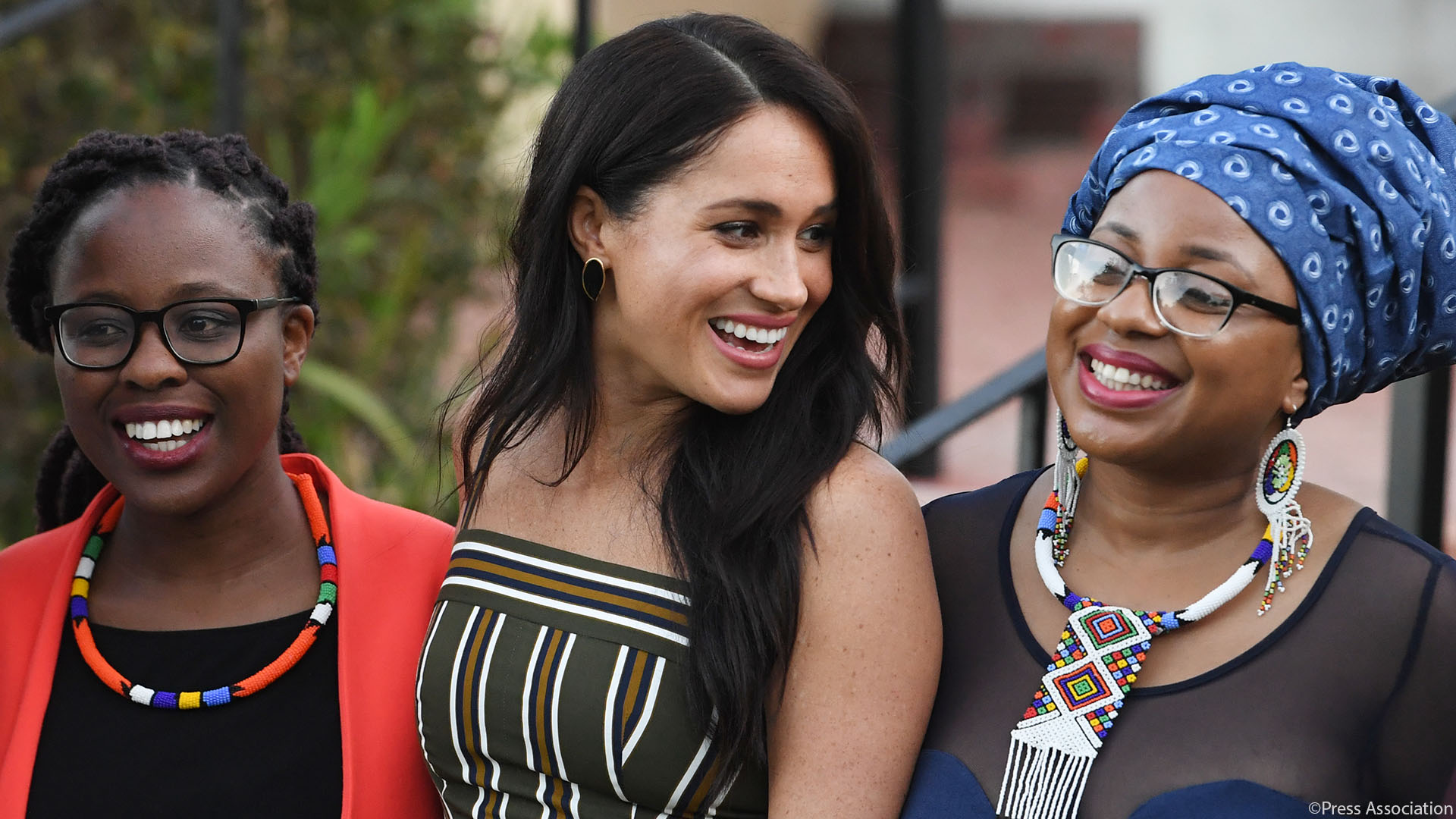 The Duke and Duchess of Sussex visit Cape Town