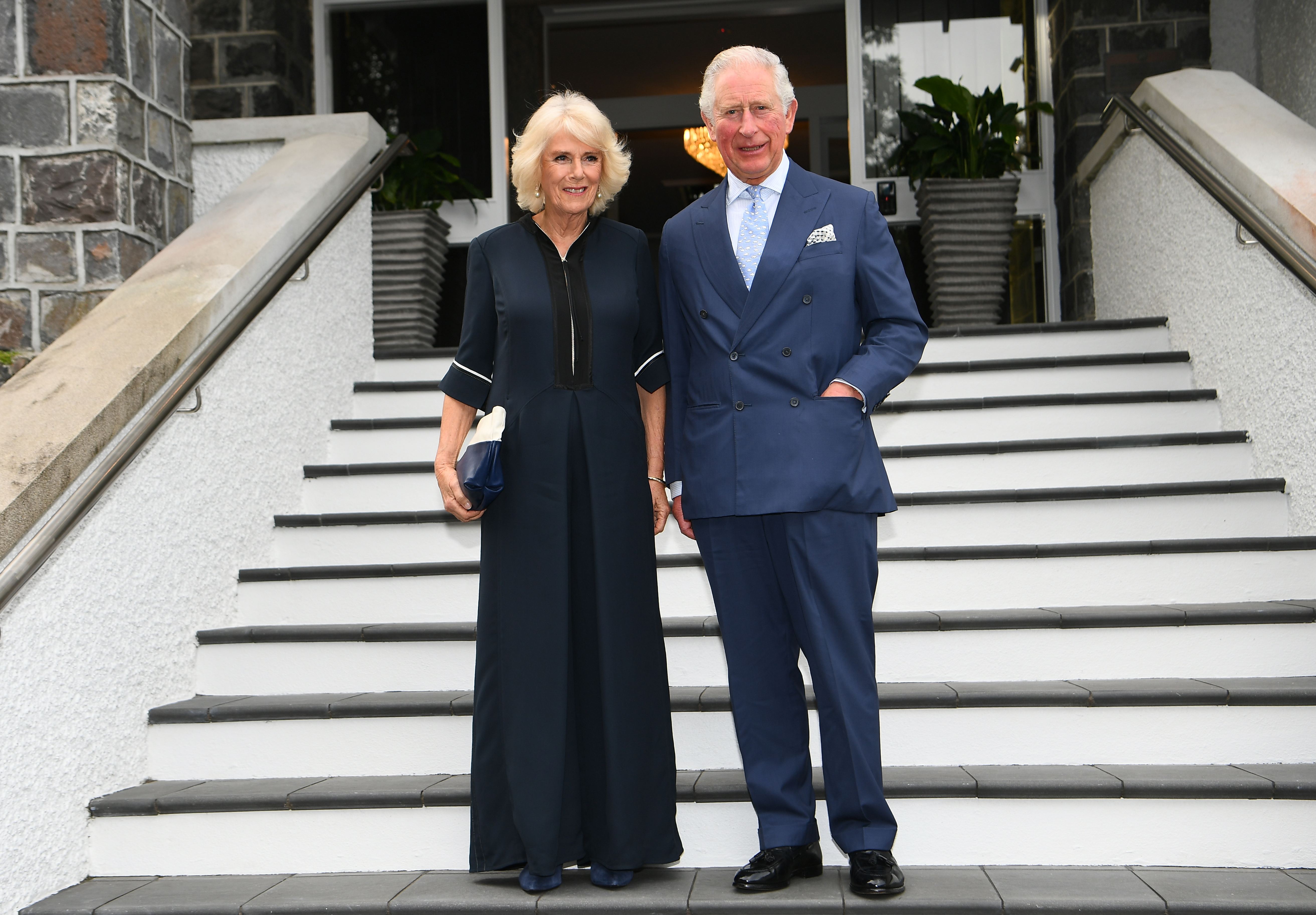 The Prince of Wales and The Duchess of Cornwall attend a reception in New Zealand