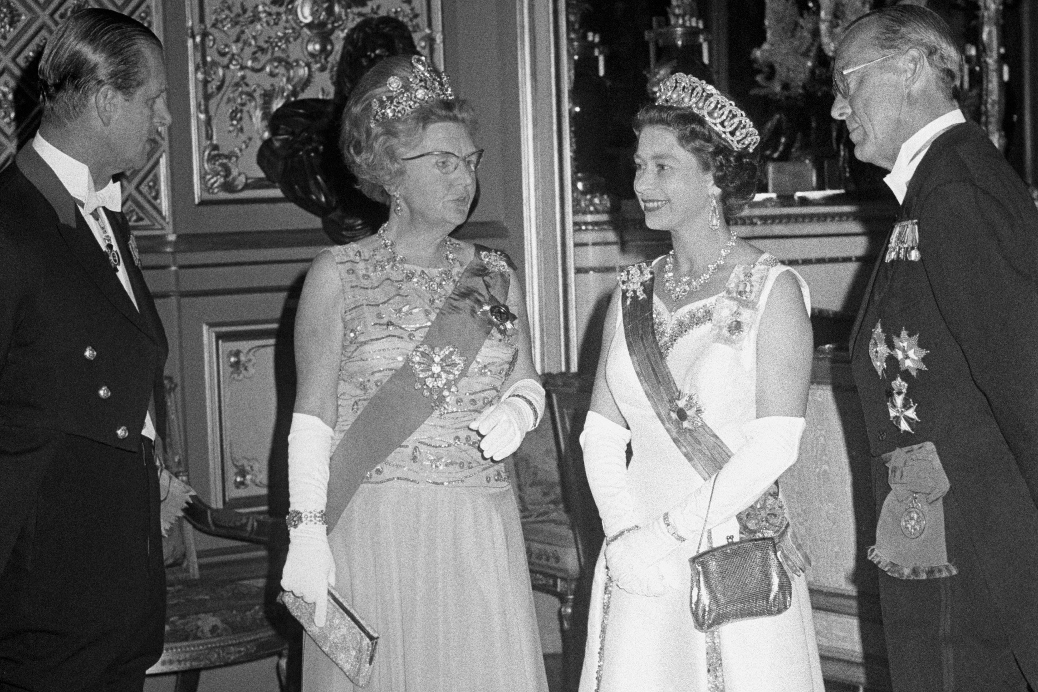 Visit Carried out by The King and Queen of the Netherlands 1972