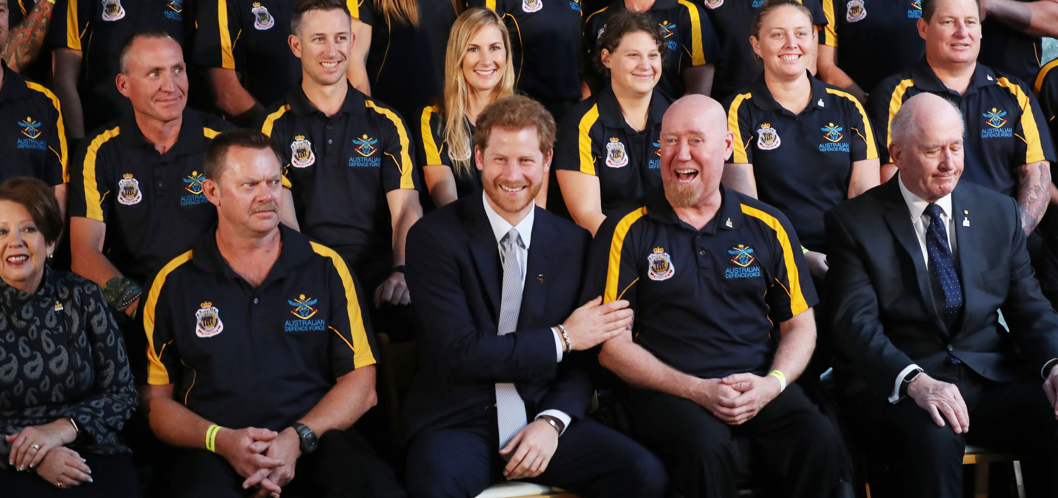 Prince Harry opens the Invictus Games in Australia