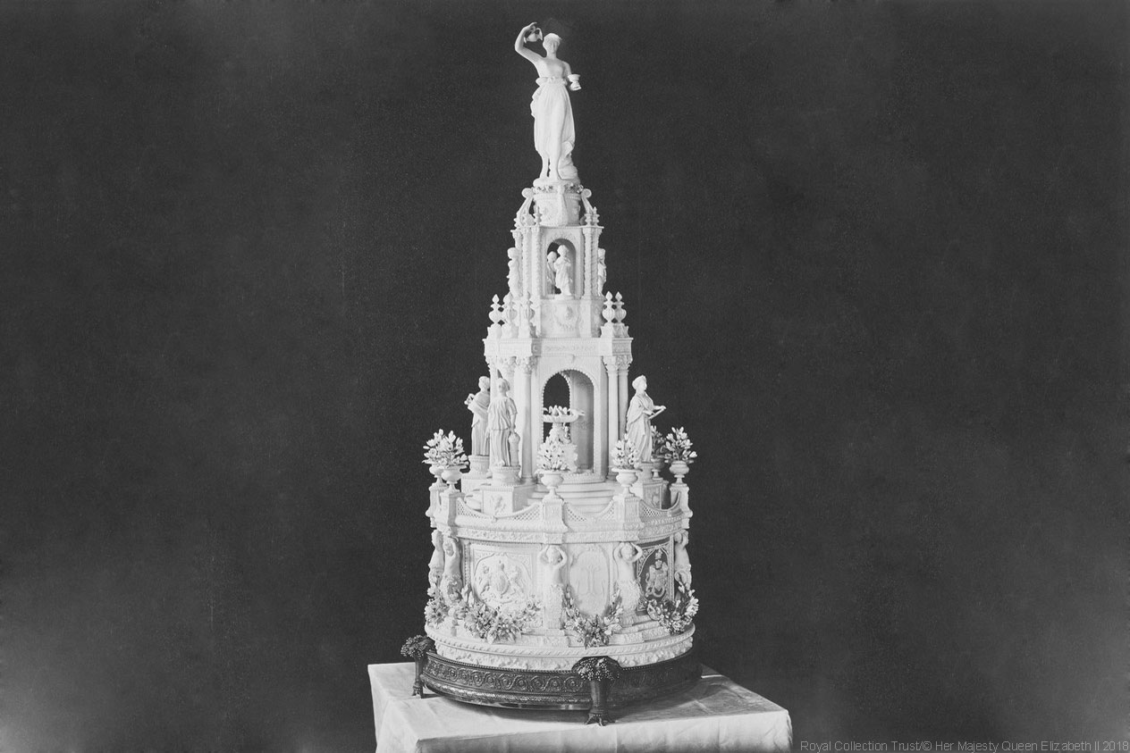 Princess Louise, Daughter of Queen Victoria, Wedding Cake
