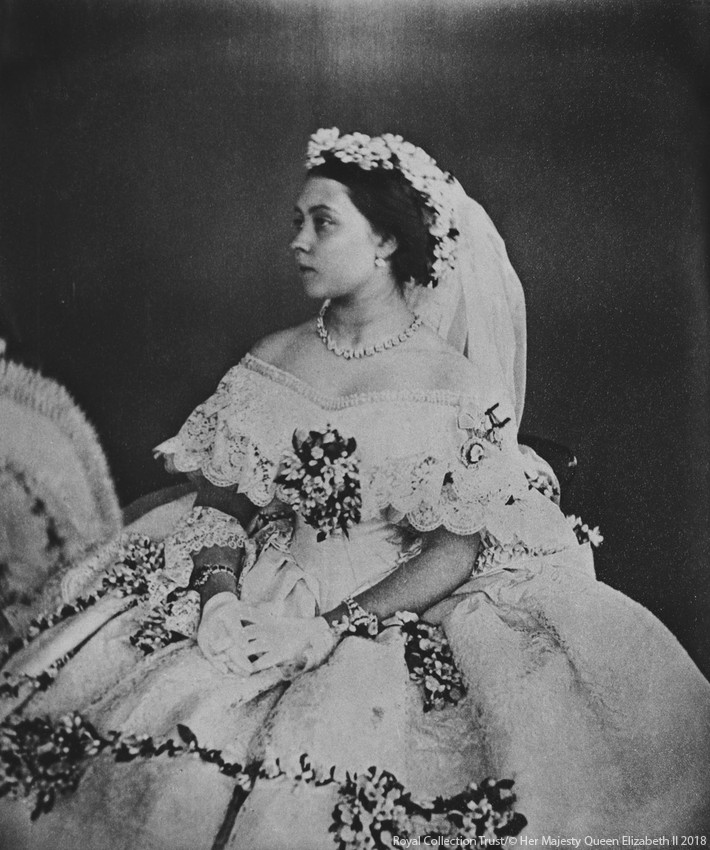 Princess Victoria, The Princess Royal's Wedding Dress