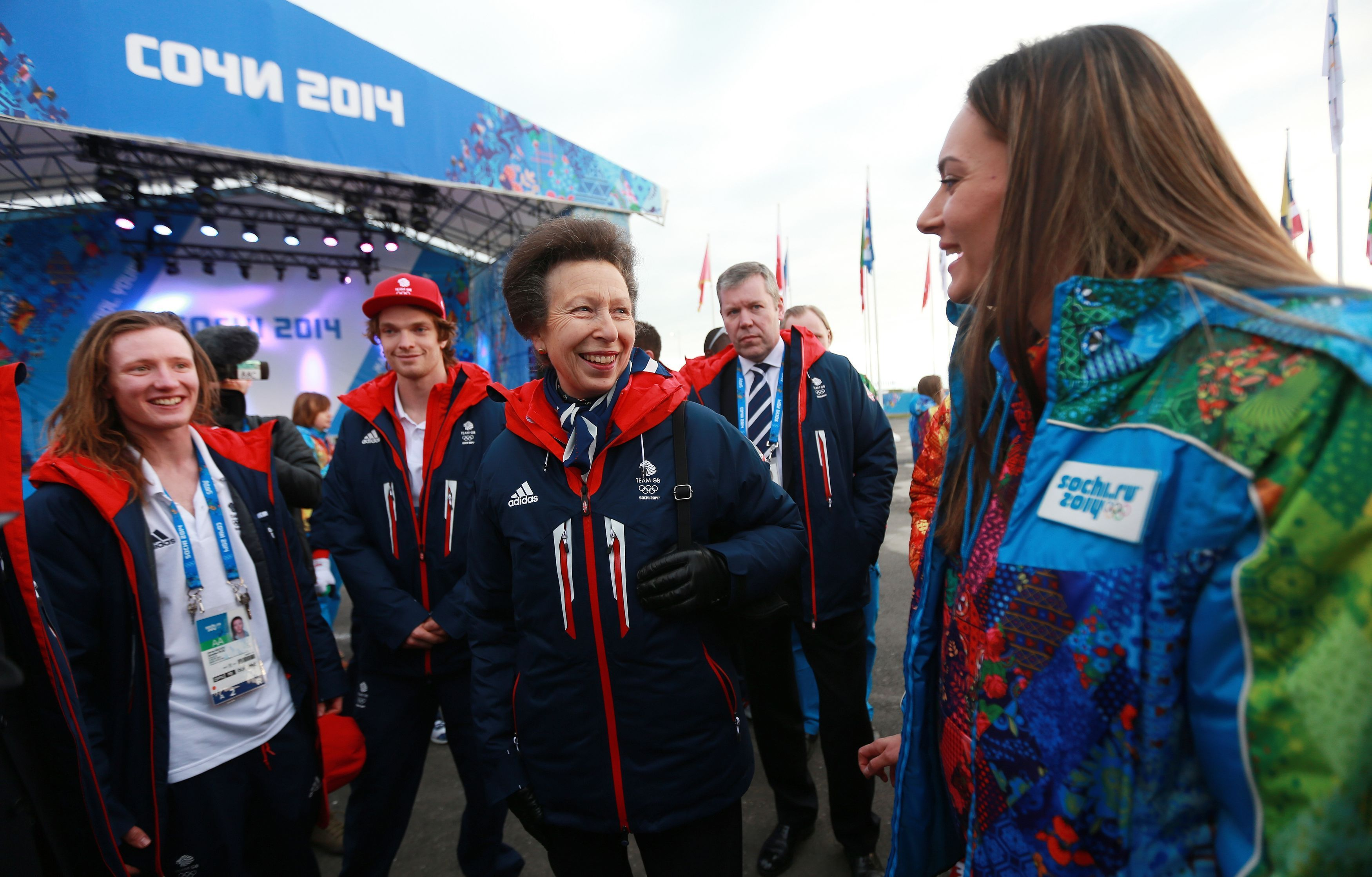 Princess Royal and the Olympics