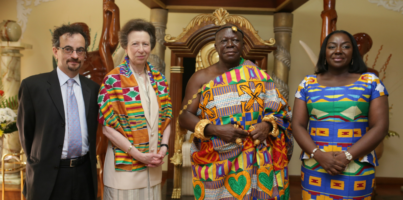 The Princess Royal in Ghana