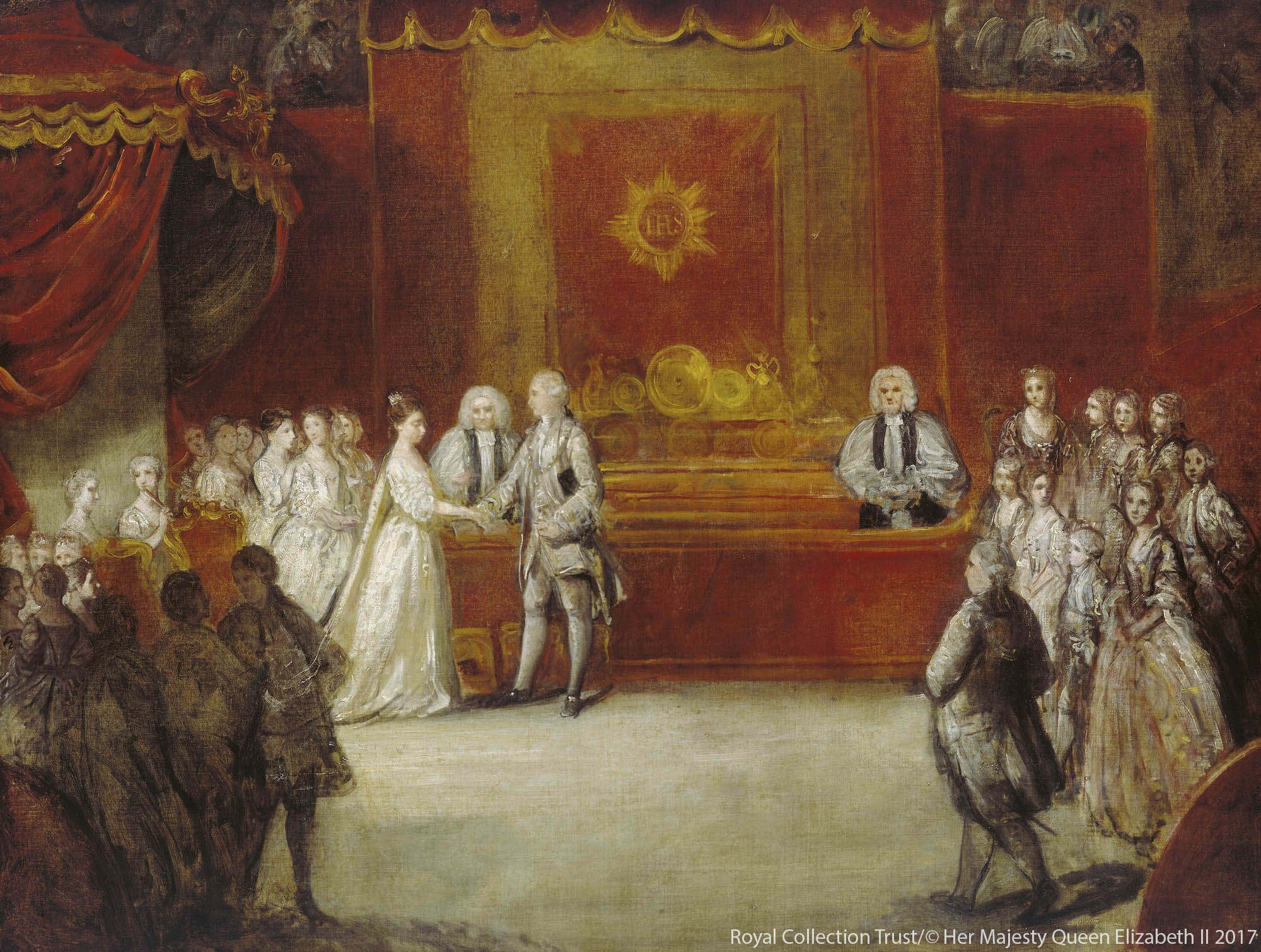 The Wedding of Princess Charlotte and King George III