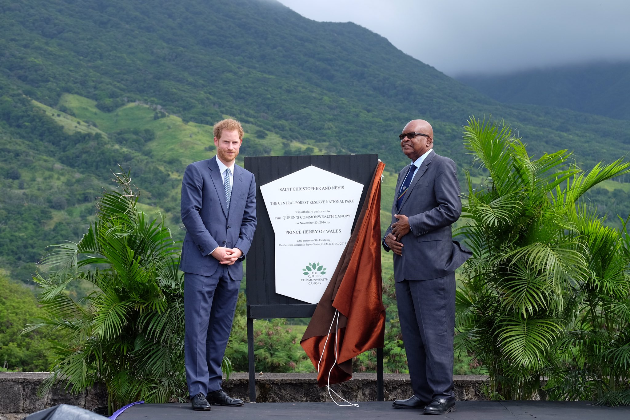 Queen's Commonwealth Canopy in St Kitts and Nevis