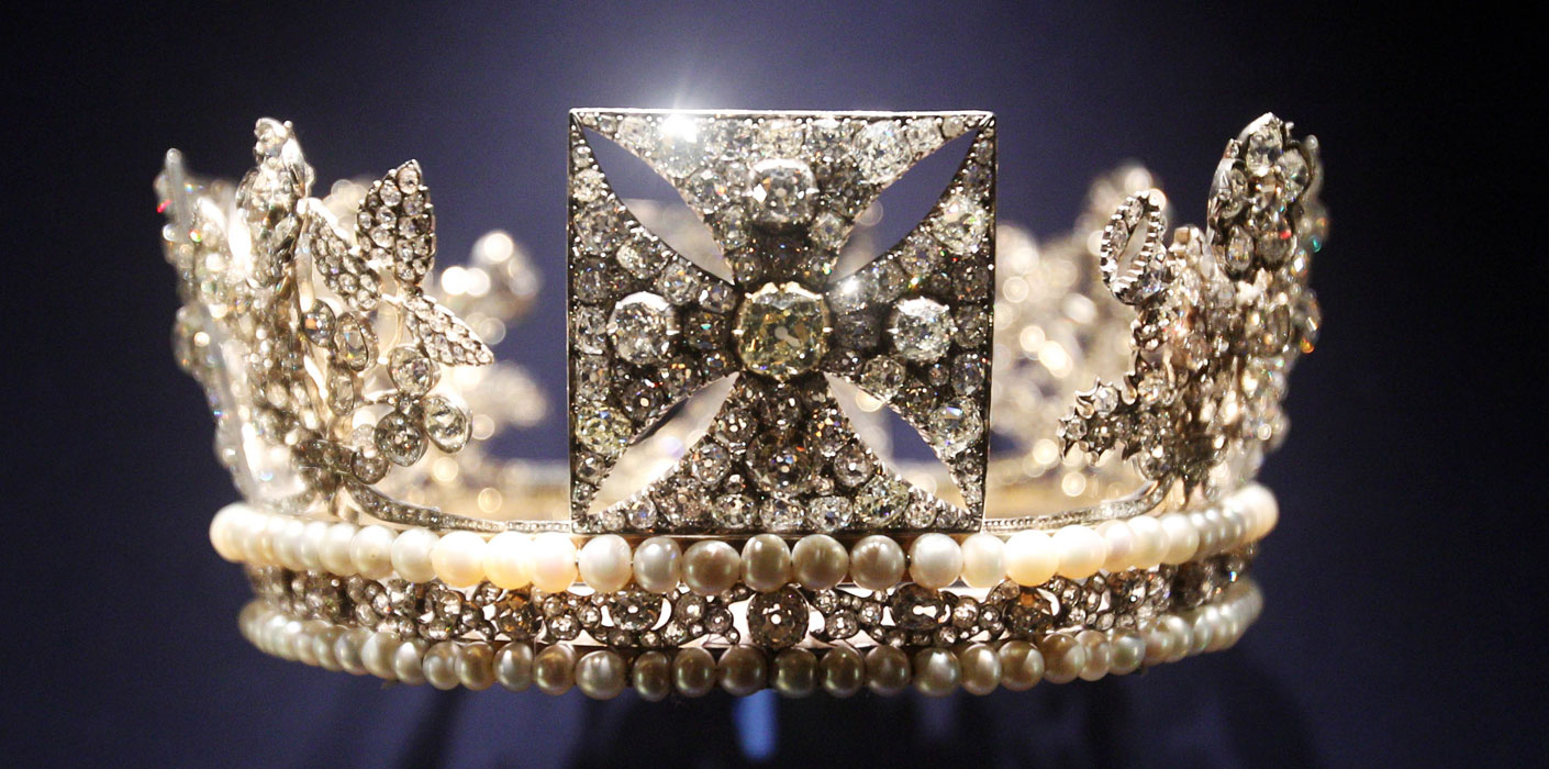 Queen Elizabeth II's Diamond Diadem