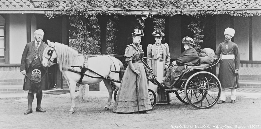 Queen Victoria at Frogmore