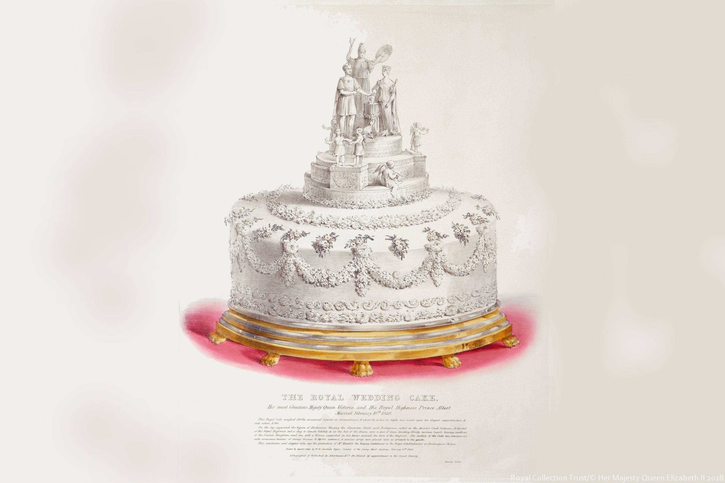 pictures royal wedding cakes the royal wedding cakes of history the royal family 18492
